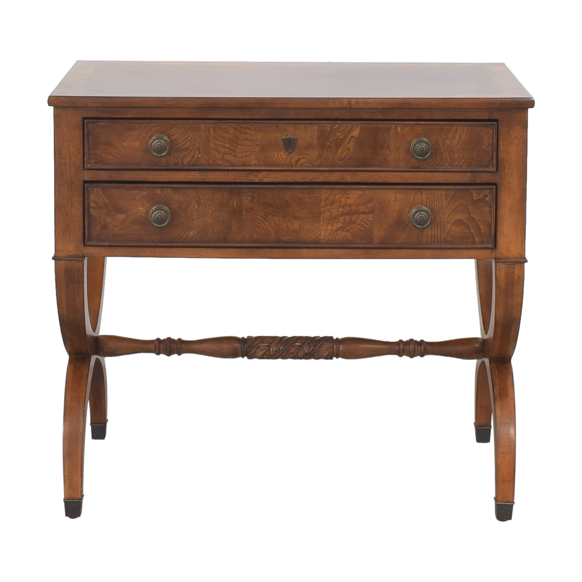 Ethan Allen Ethan Allen Two Drawer Accent Table