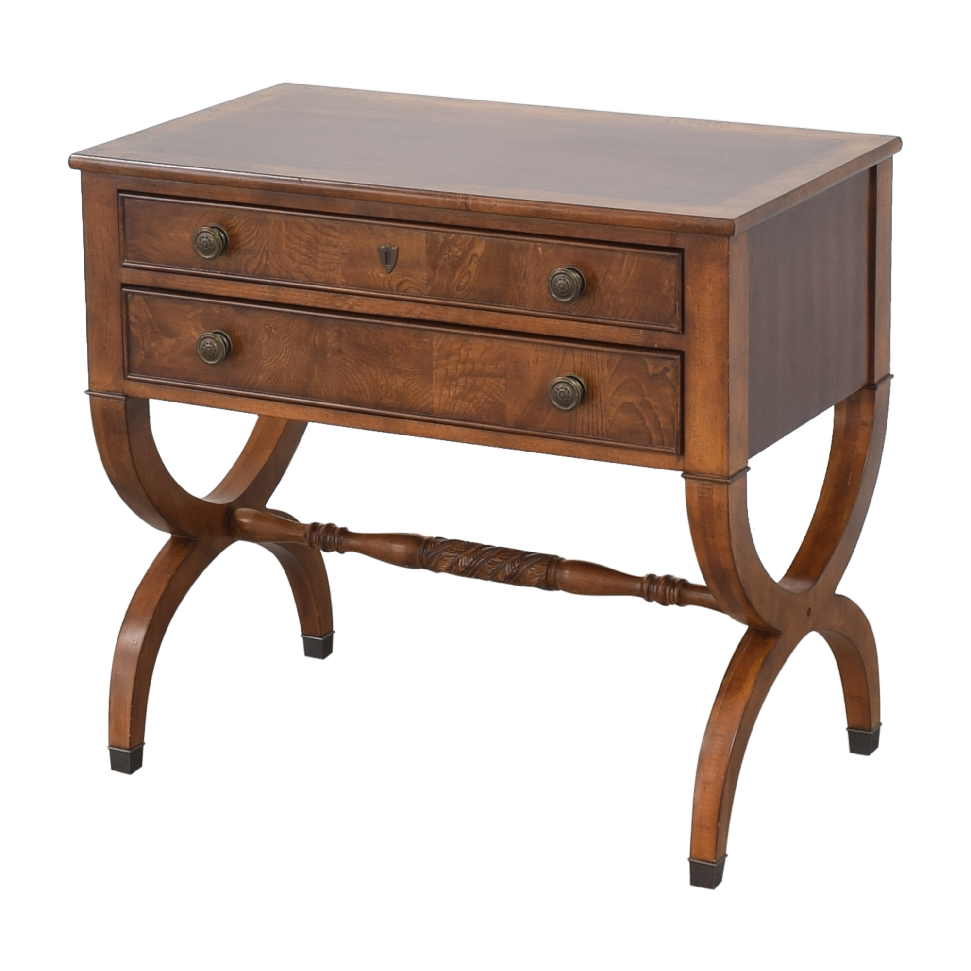 Ethan Allen Ethan Allen Two Drawer Accent Table coupon