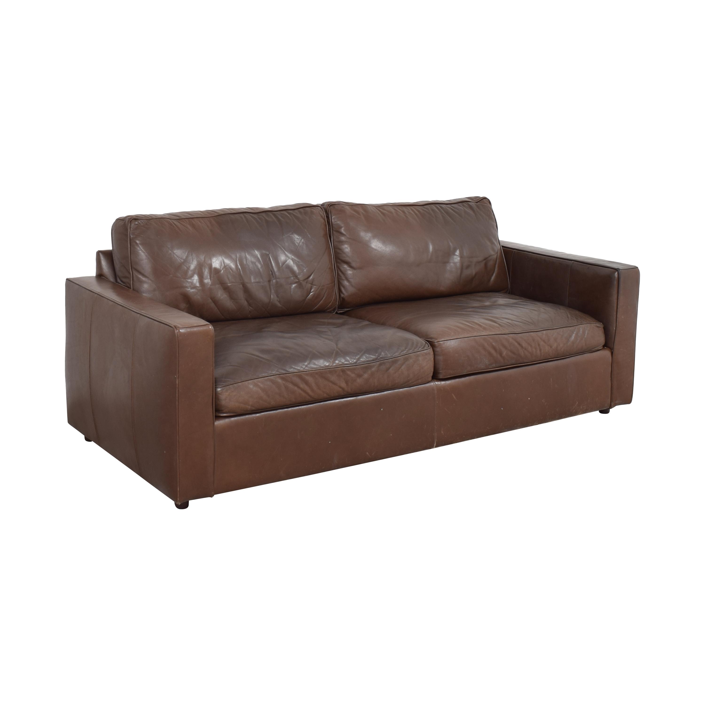 Room & Board Room & Board Two Cushion Sofa by McCreary Modern brown
