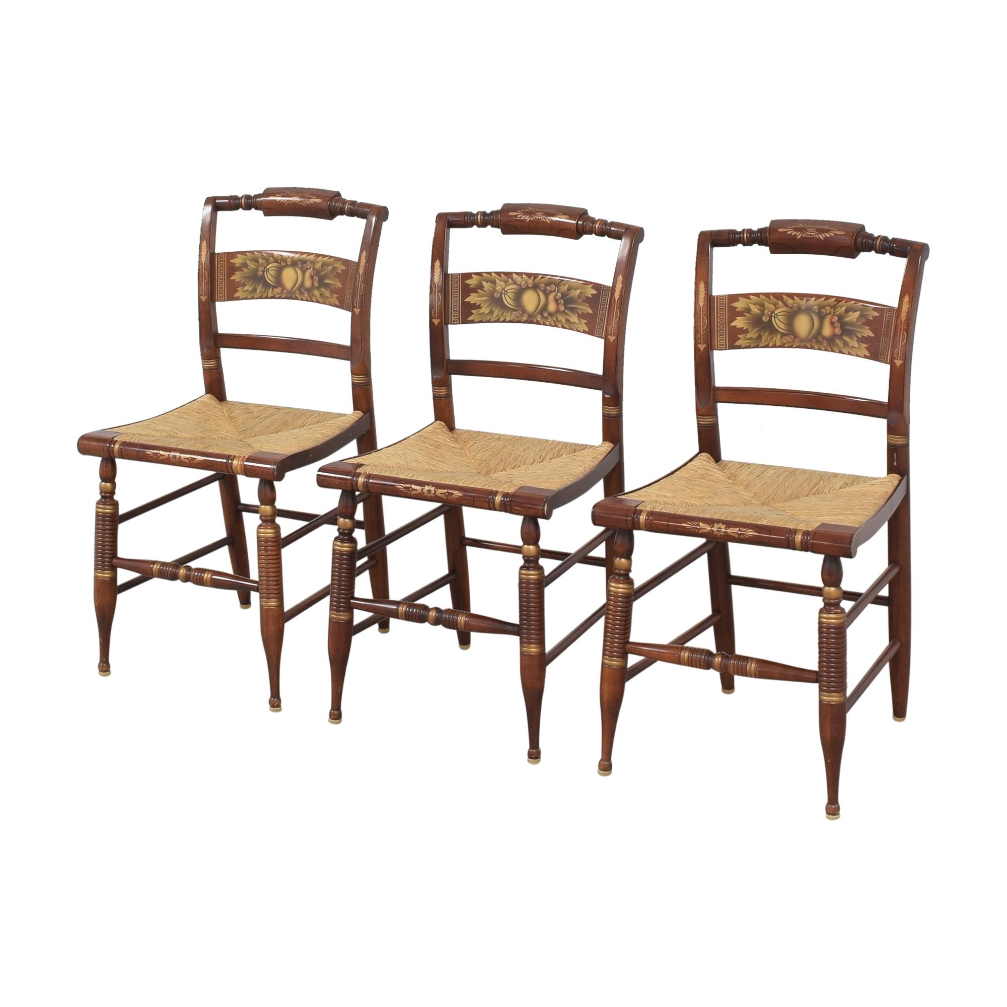 Lambert Hitchcock Lambert Hitchcock Cane Seat Dining Chairs used