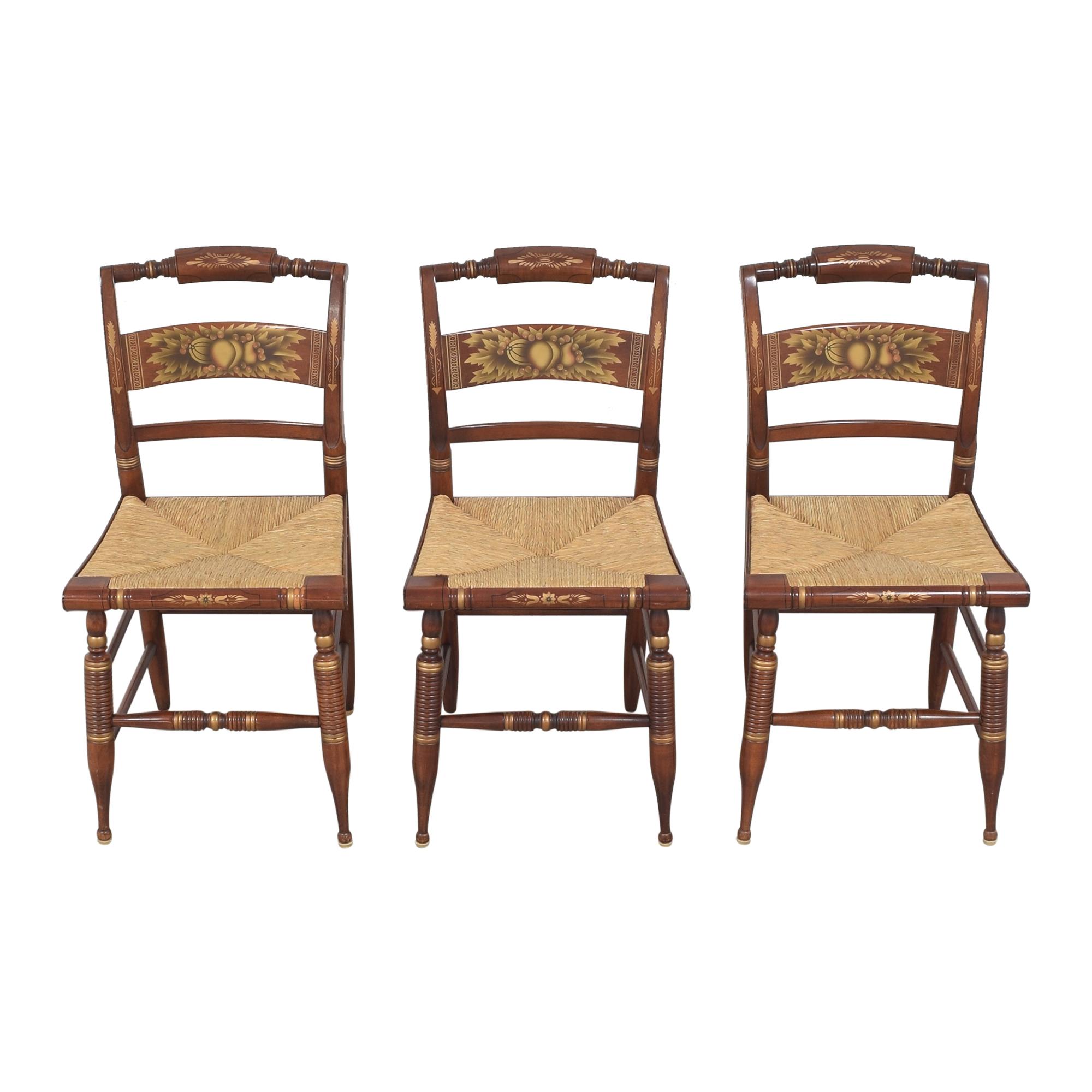 Lambert Hitchcock Lambert Hitchcock Cane Seat Dining Chairs second hand