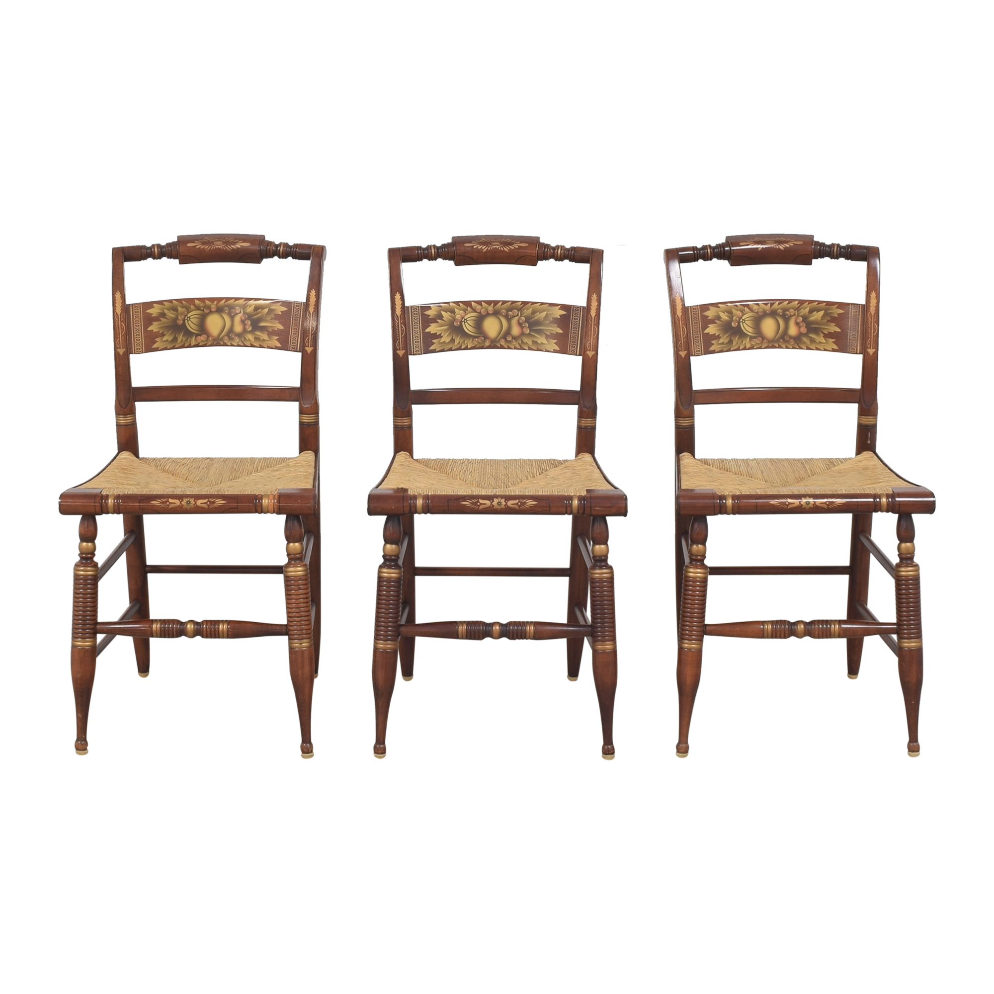 Lambert Hitchcock Lambert Hitchcock Cane Seat Dining Chairs for sale