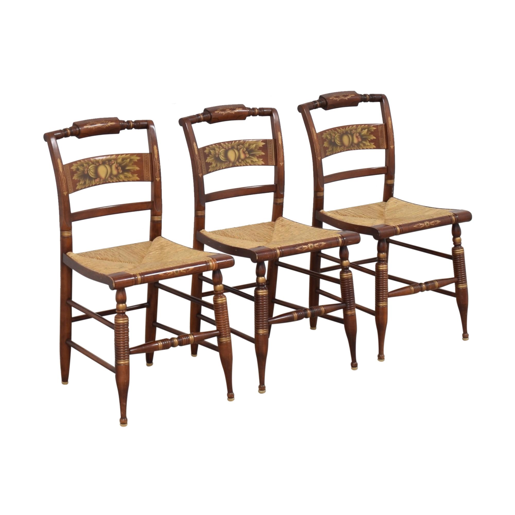 Lambert Hitchcock Lambert Hitchcock Cane Seat Dining Chairs on sale