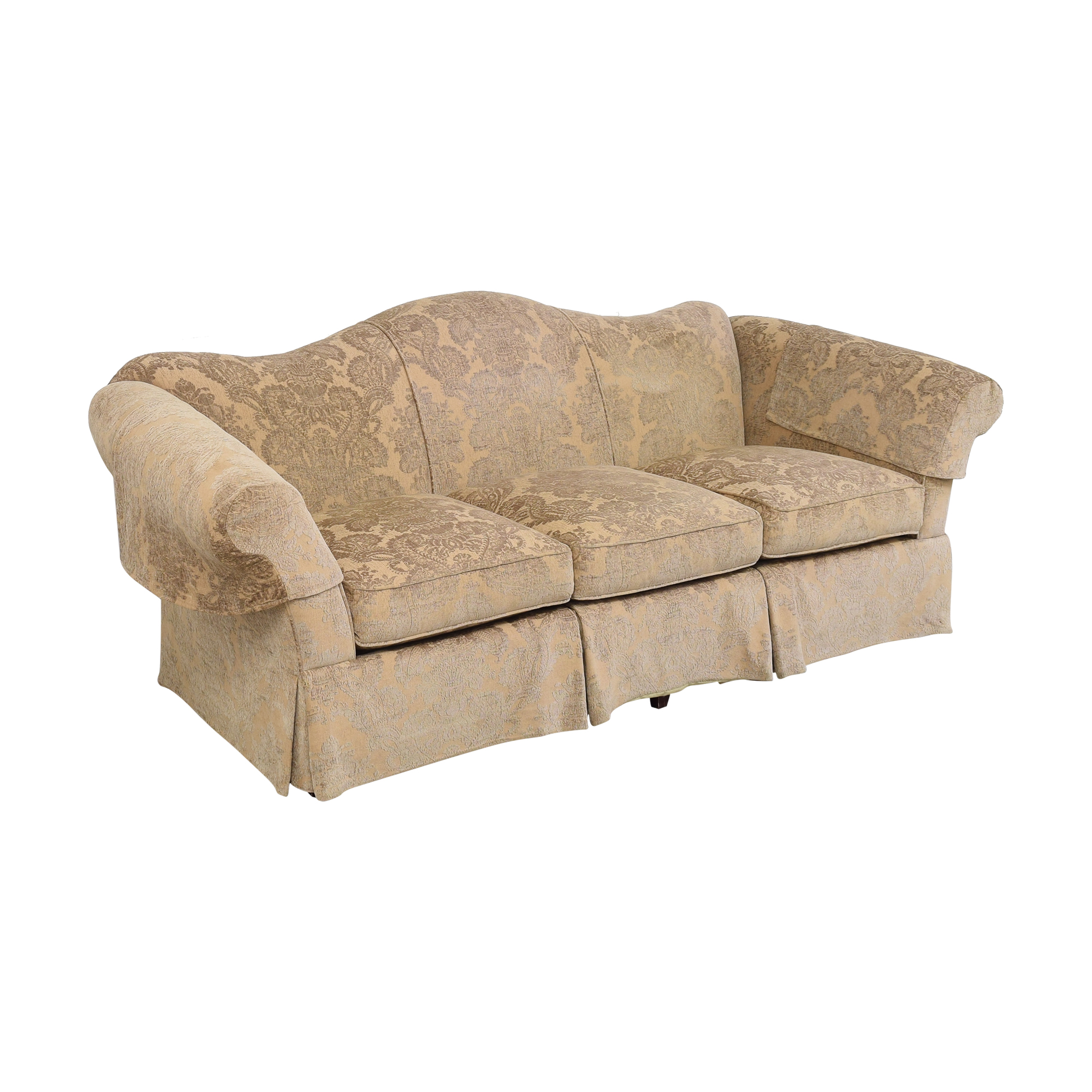 buy Lee Industries Camelback Three Cushion Sofa Lee Industries