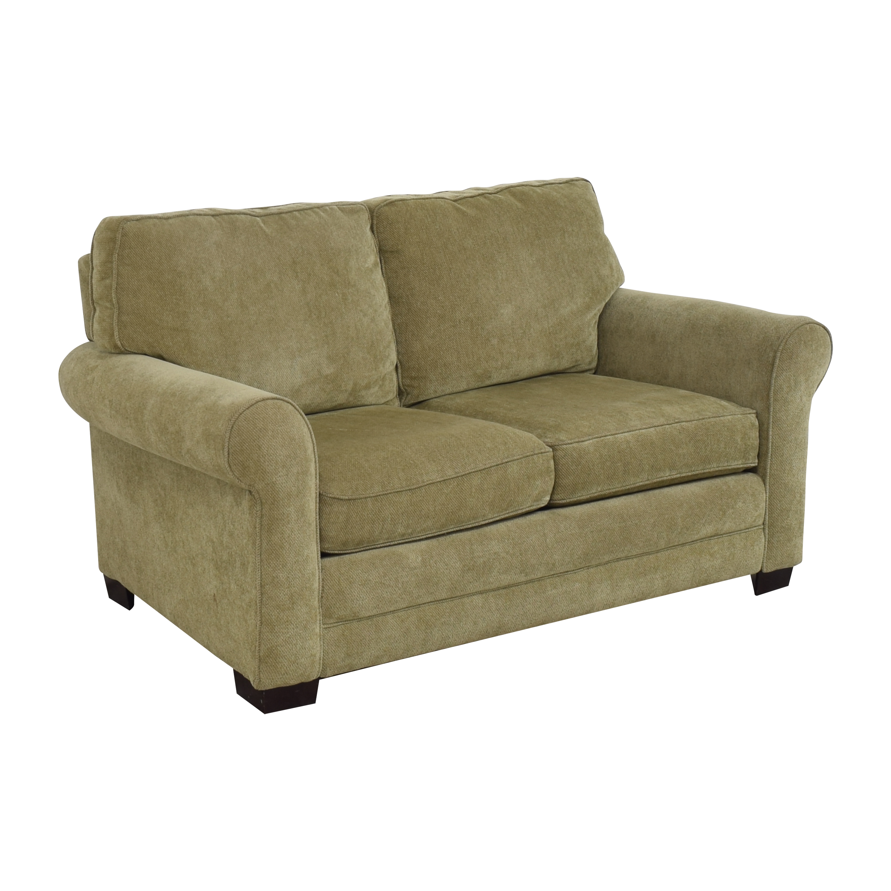 buy Raymour & Flanigan Raymour & Flanigan Roll Arm Loveseat online