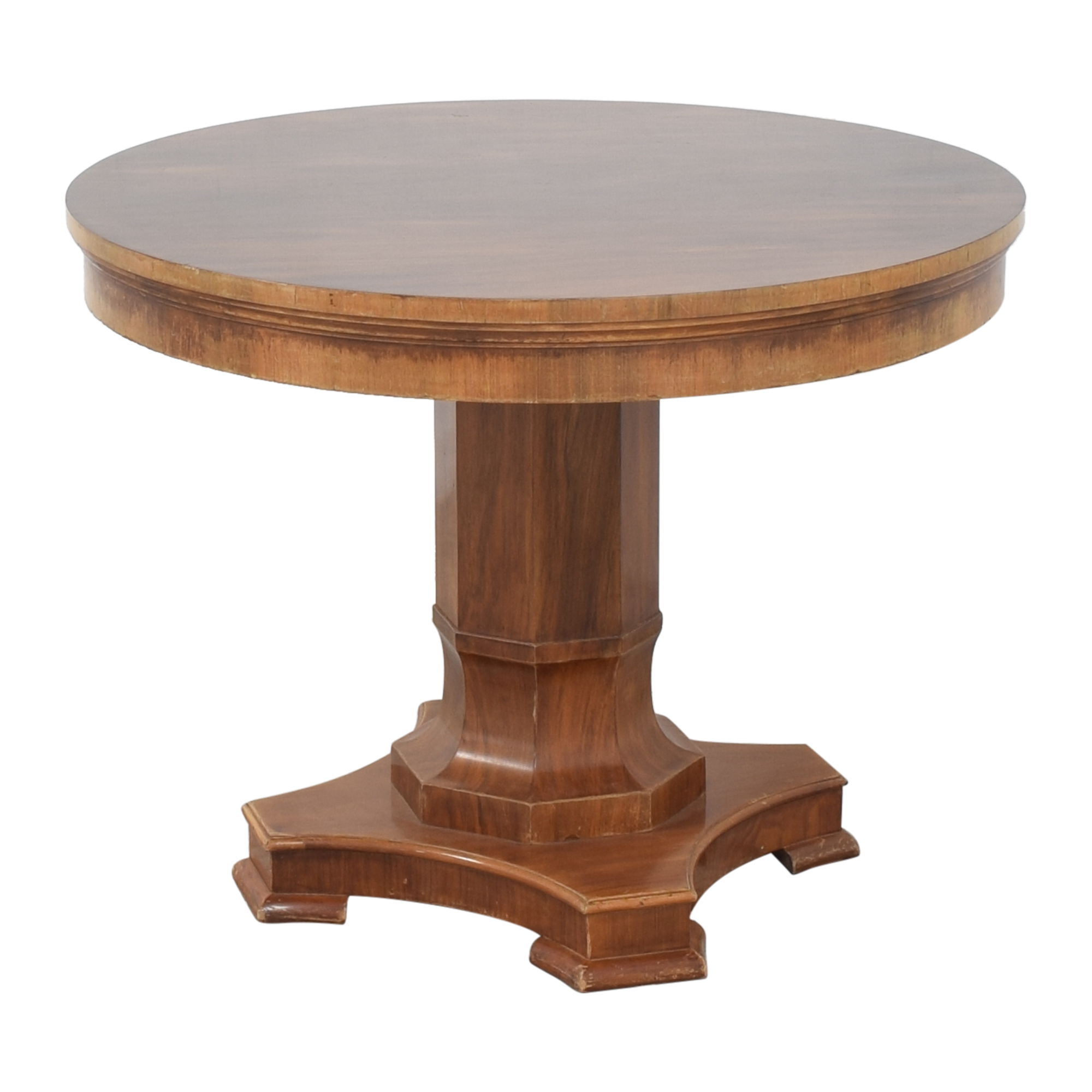 Antique Round Pedestal Table price