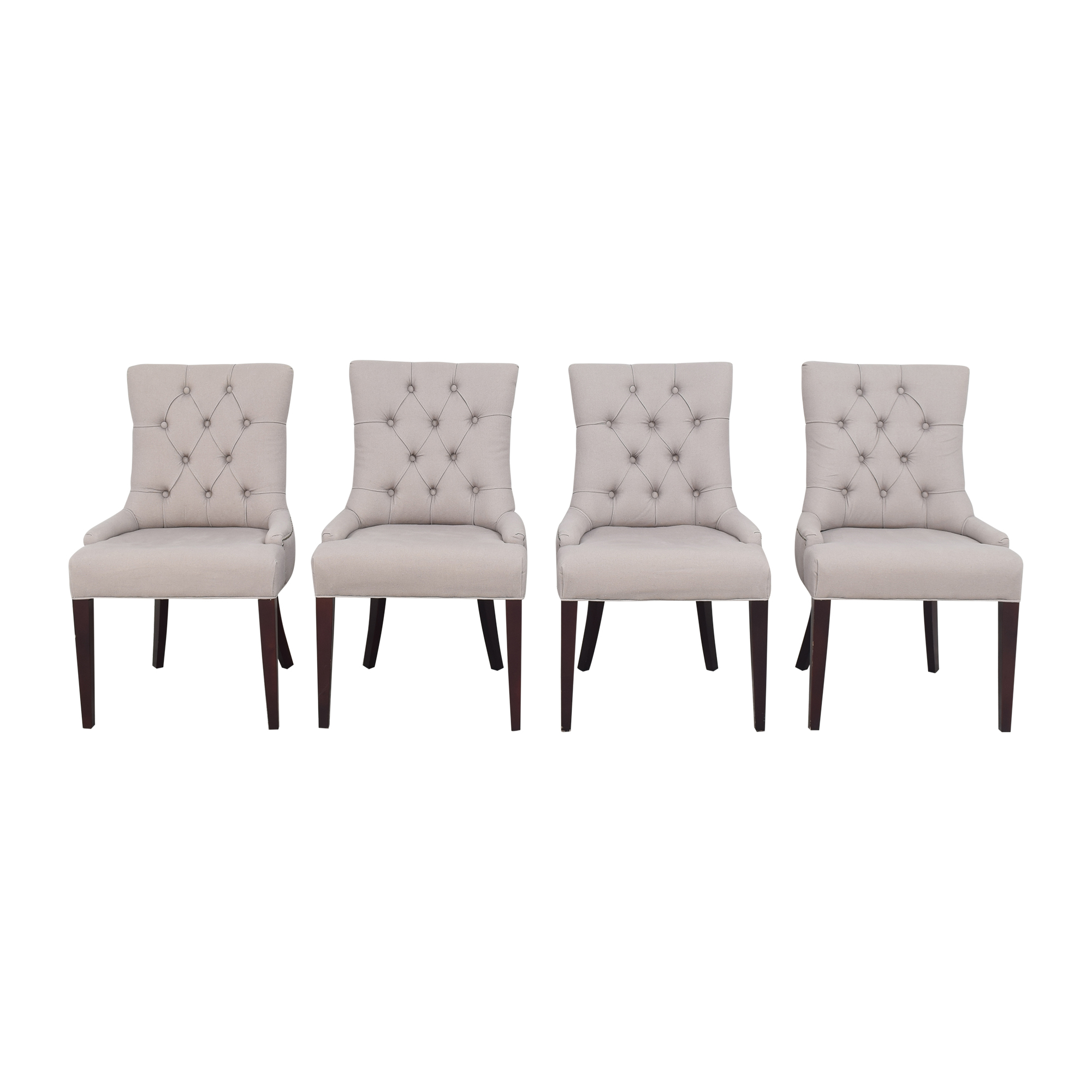 Safavieh Safavieh Nimes Tufted Dining Chairs ct