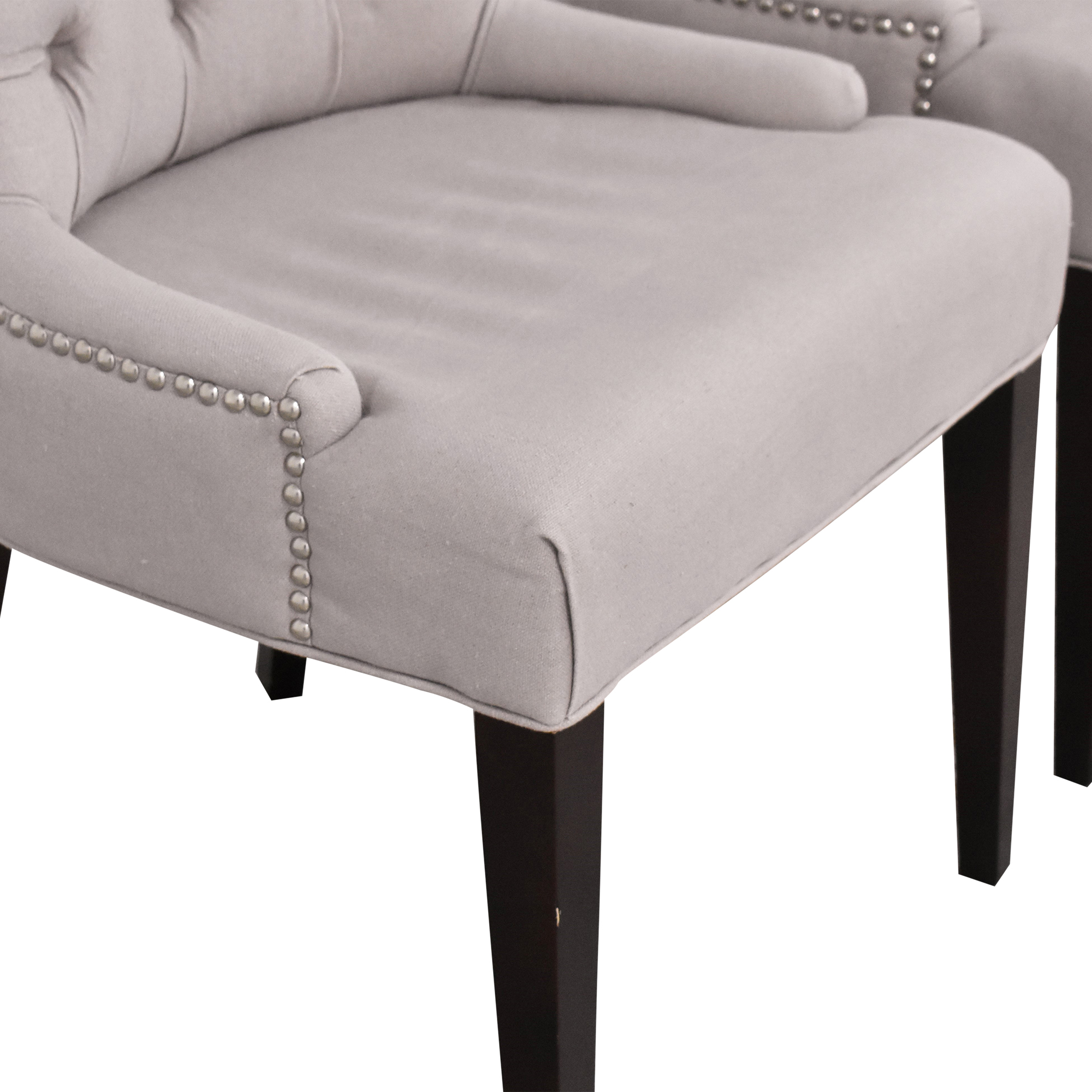 Safavieh Nimes Tufted Dining Chairs / Dining Chairs