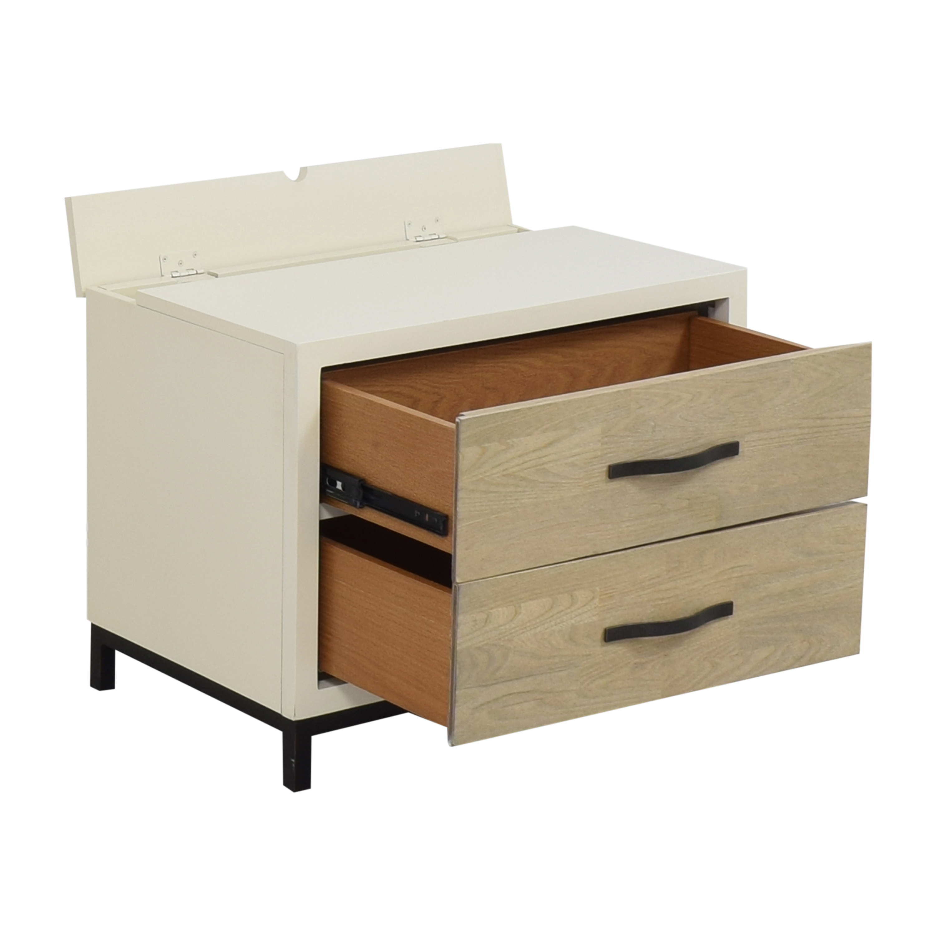 Universal Furniture Universal Furniture Spencer Nightstand with Power Outlet  ct