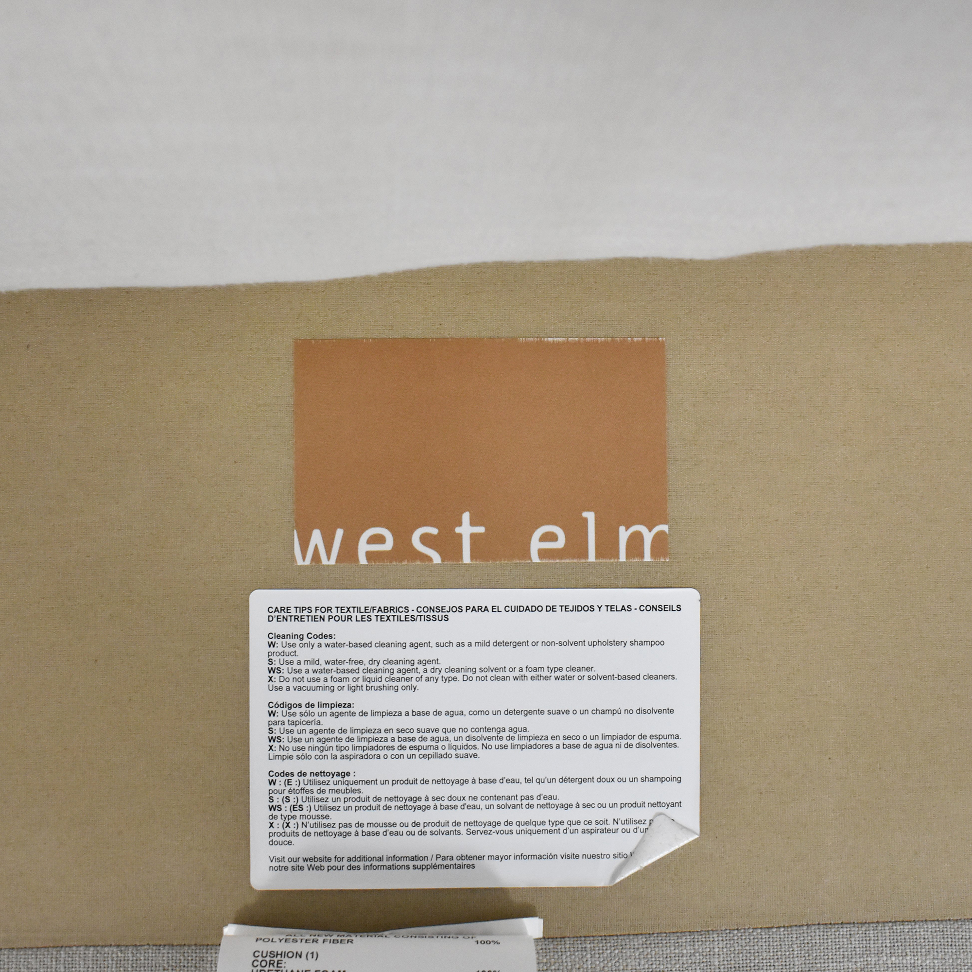 West Elm West Elm Dunham Sofa second hand