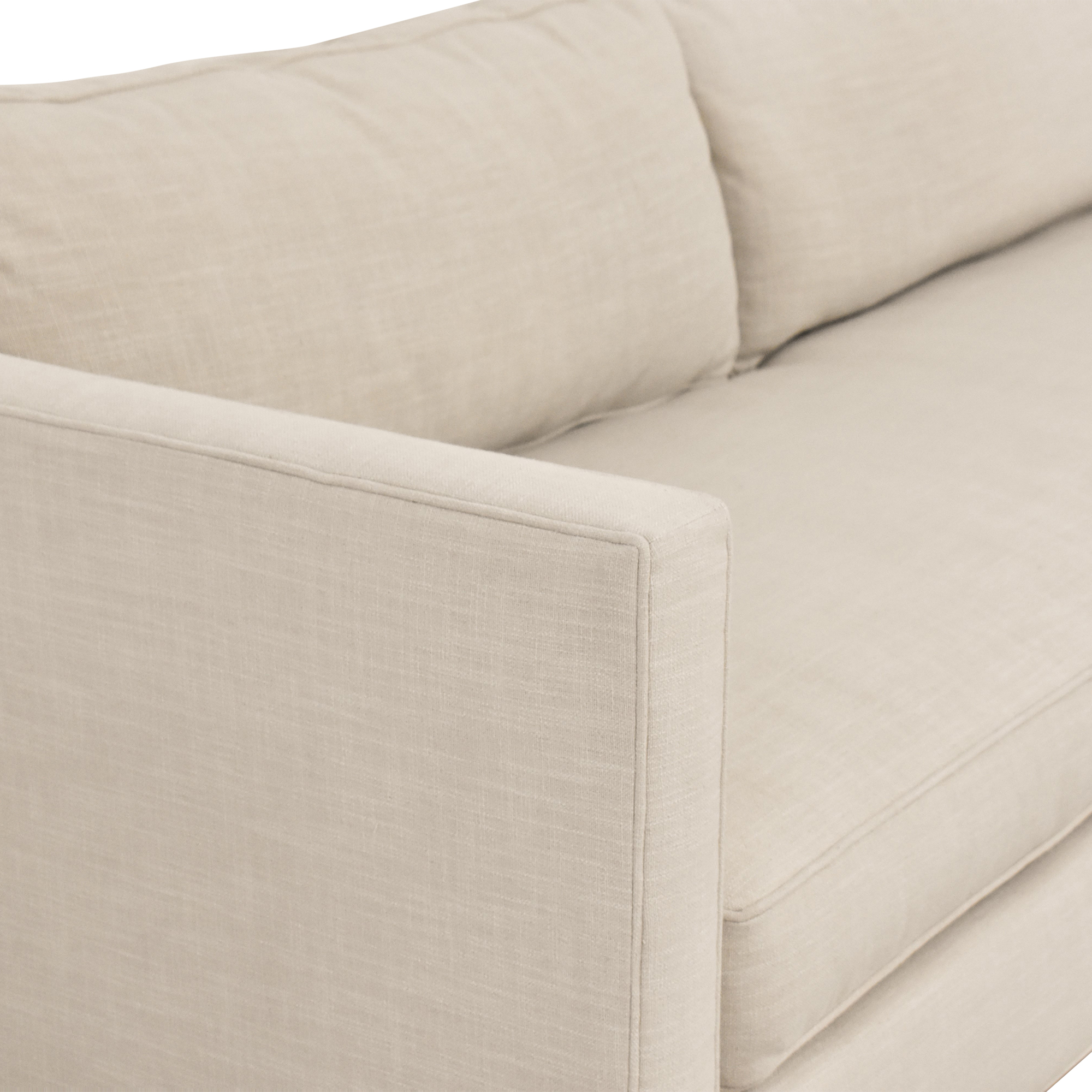 West Elm West Elm Dunham Sofa discount