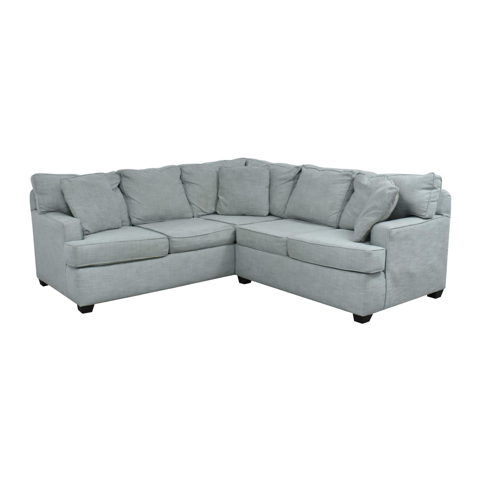 KFI KFI Corner Sectional Sofa dimensions