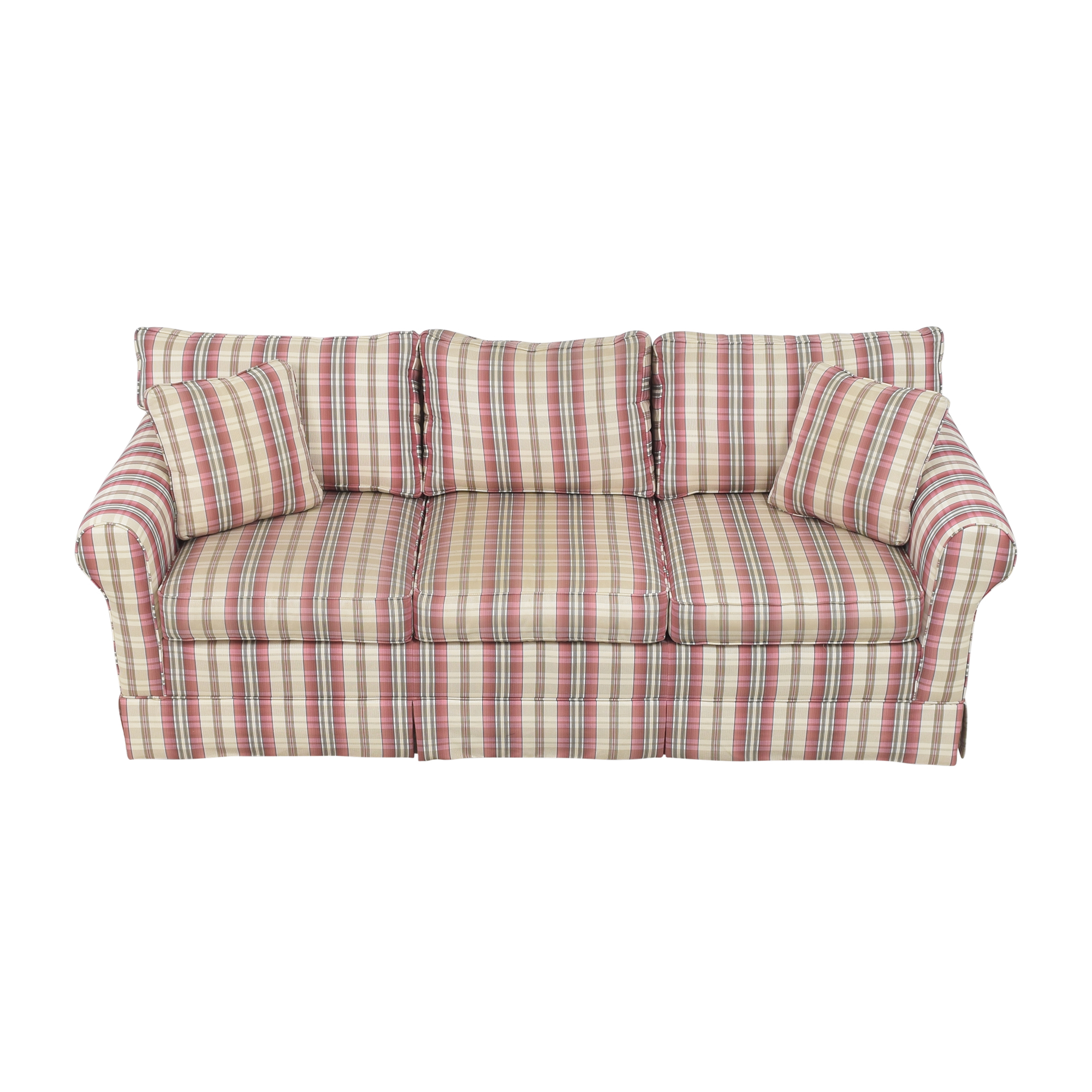 Choice Seating Gallery Choice Seating Gallery Skirted Three Cushion Sofa price