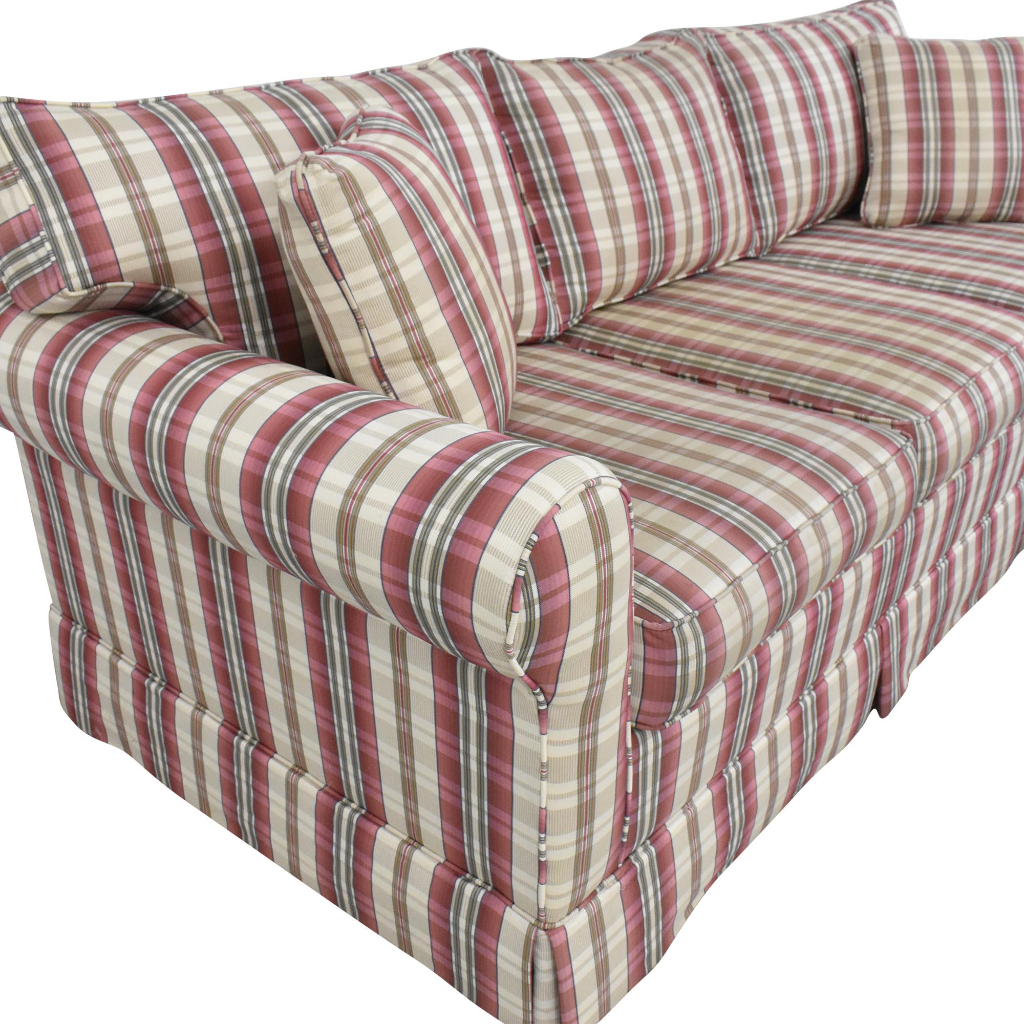 Choice Seating Gallery Choice Seating Gallery Skirted Three Cushion Sofa pa