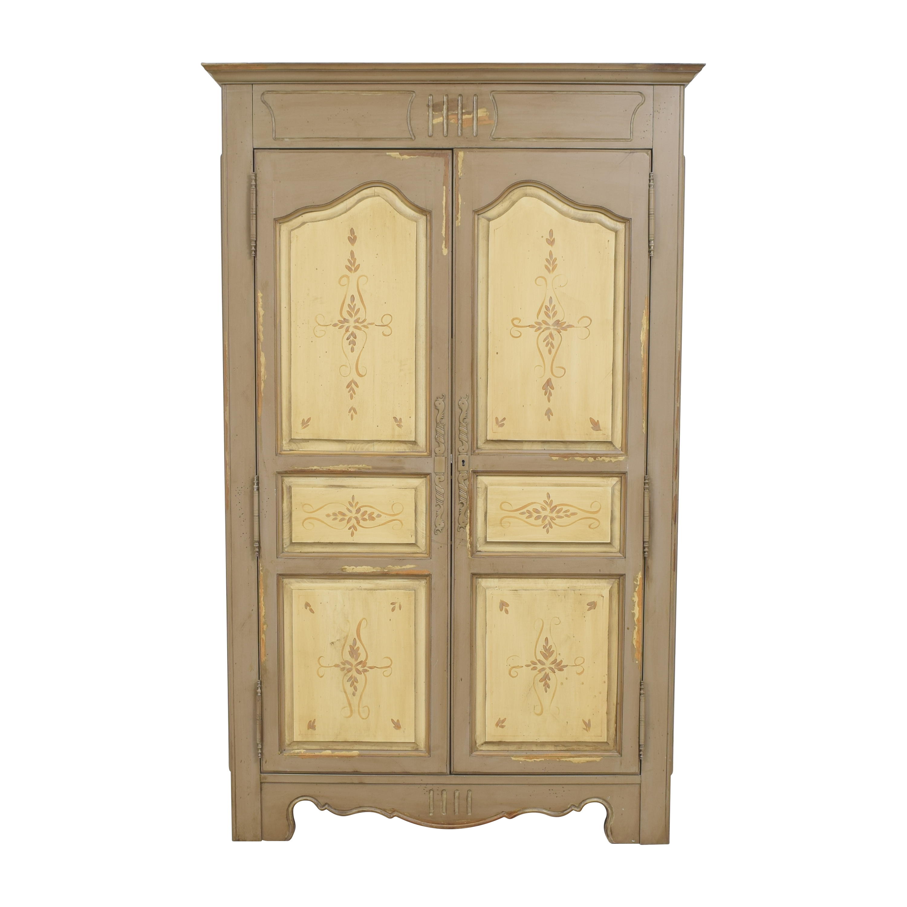 shop Domain Distressed Two Door Armoire Domain