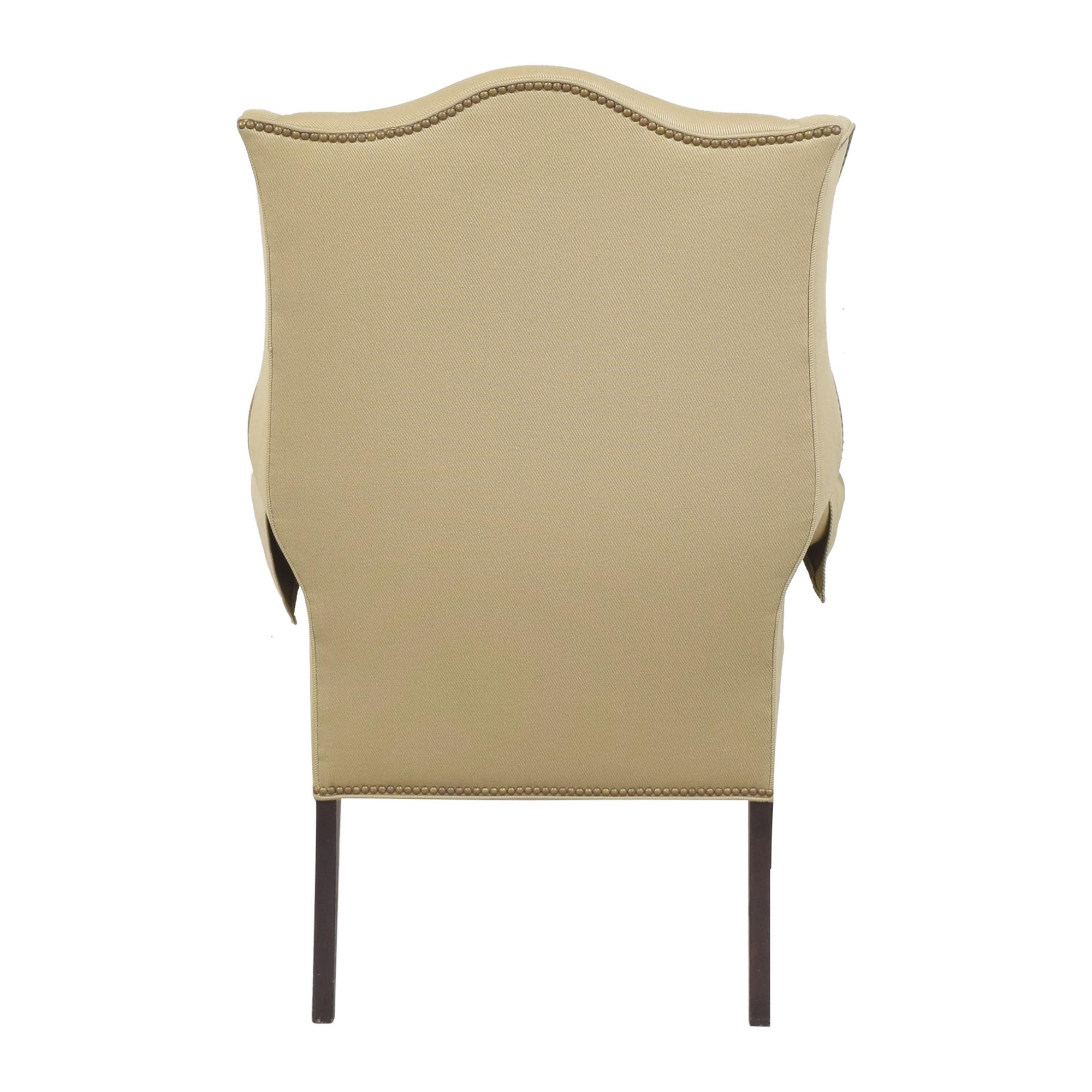 buy Ethan Allen Wing Back Chair Ethan Allen