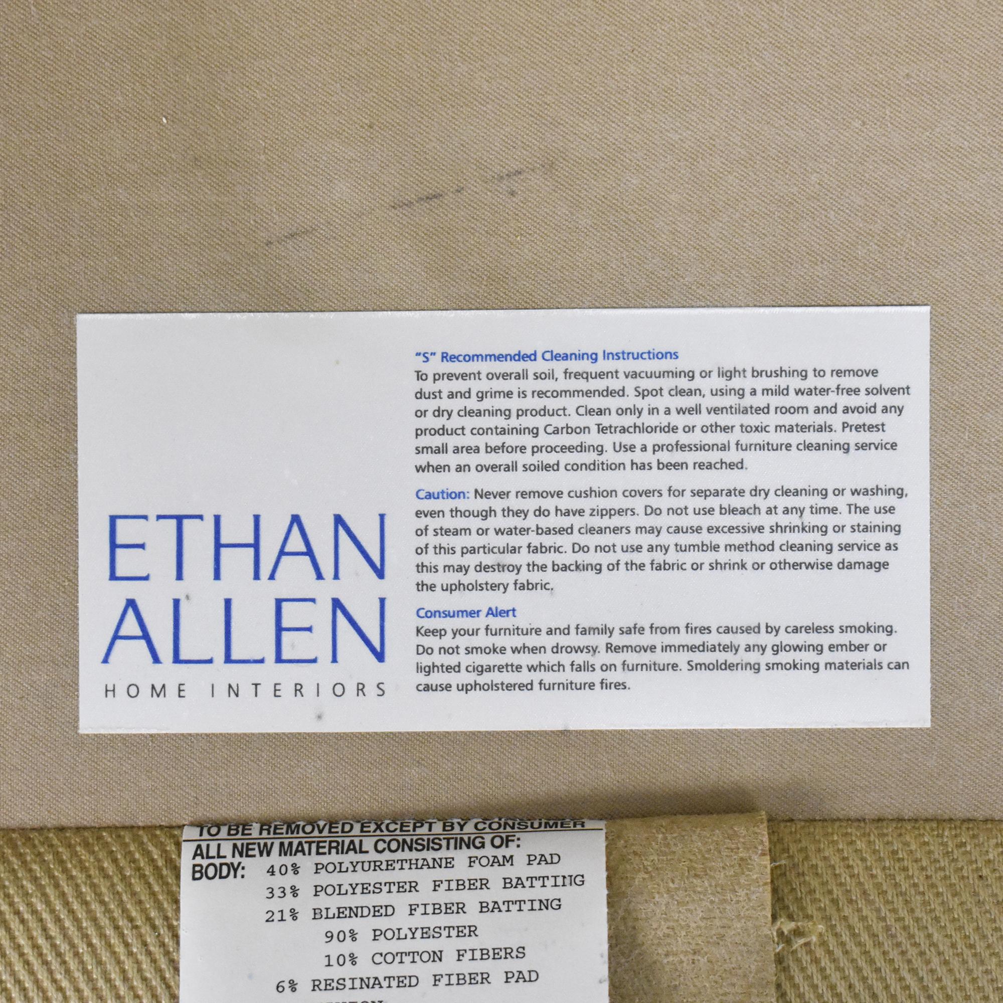 shop Ethan Allen Ethan Allen Wing Back Chair online