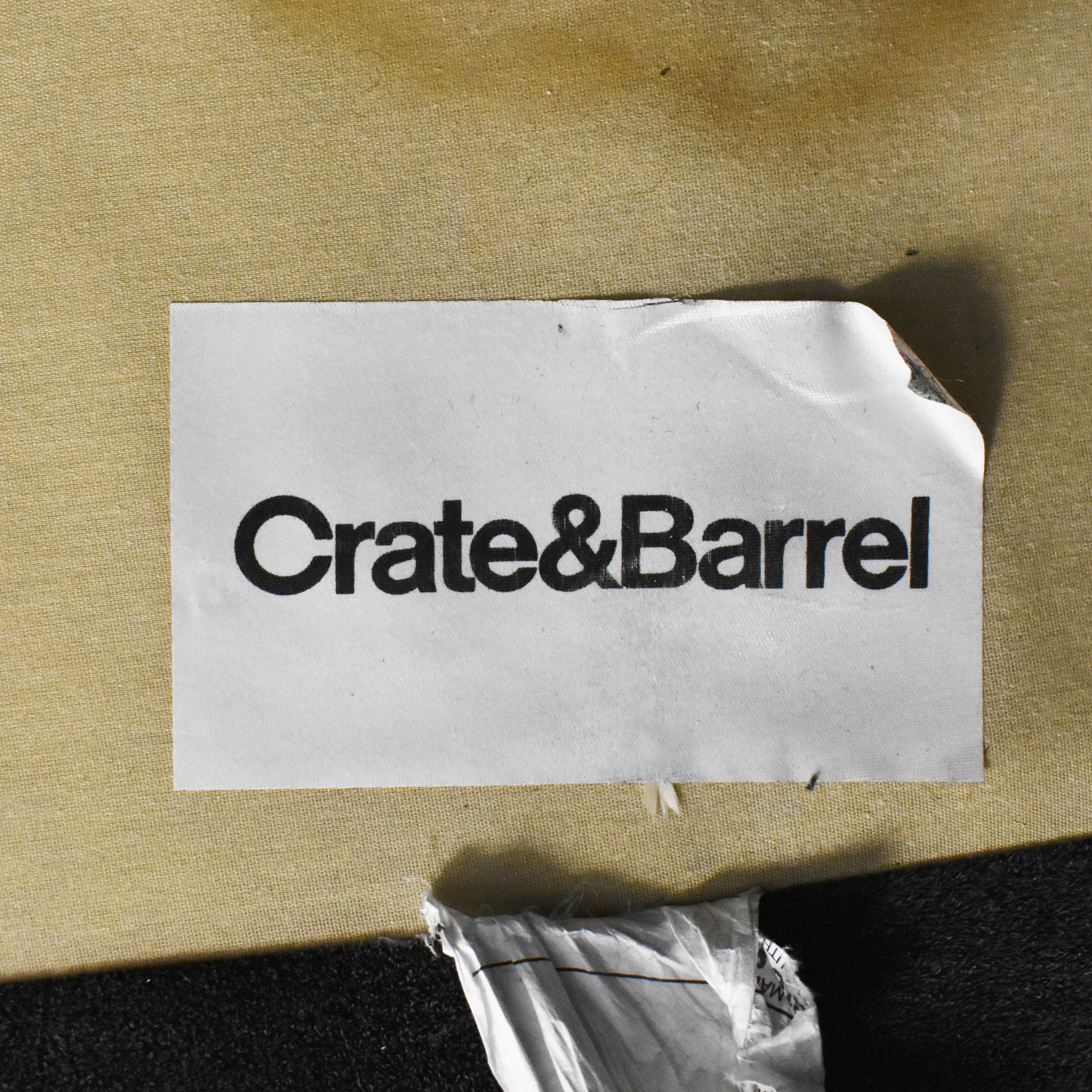 Crate & Barrel Crate & Barrel Axis II 2-Seat Sofa ma