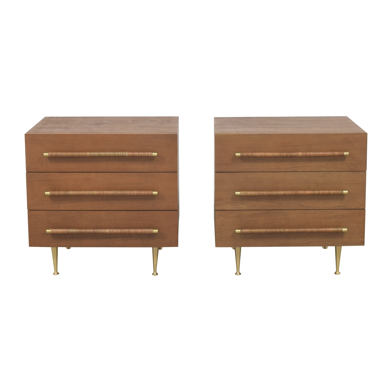 Brownstone Furniture Brownstone Furniture Audrey Walnut Nightstands ct