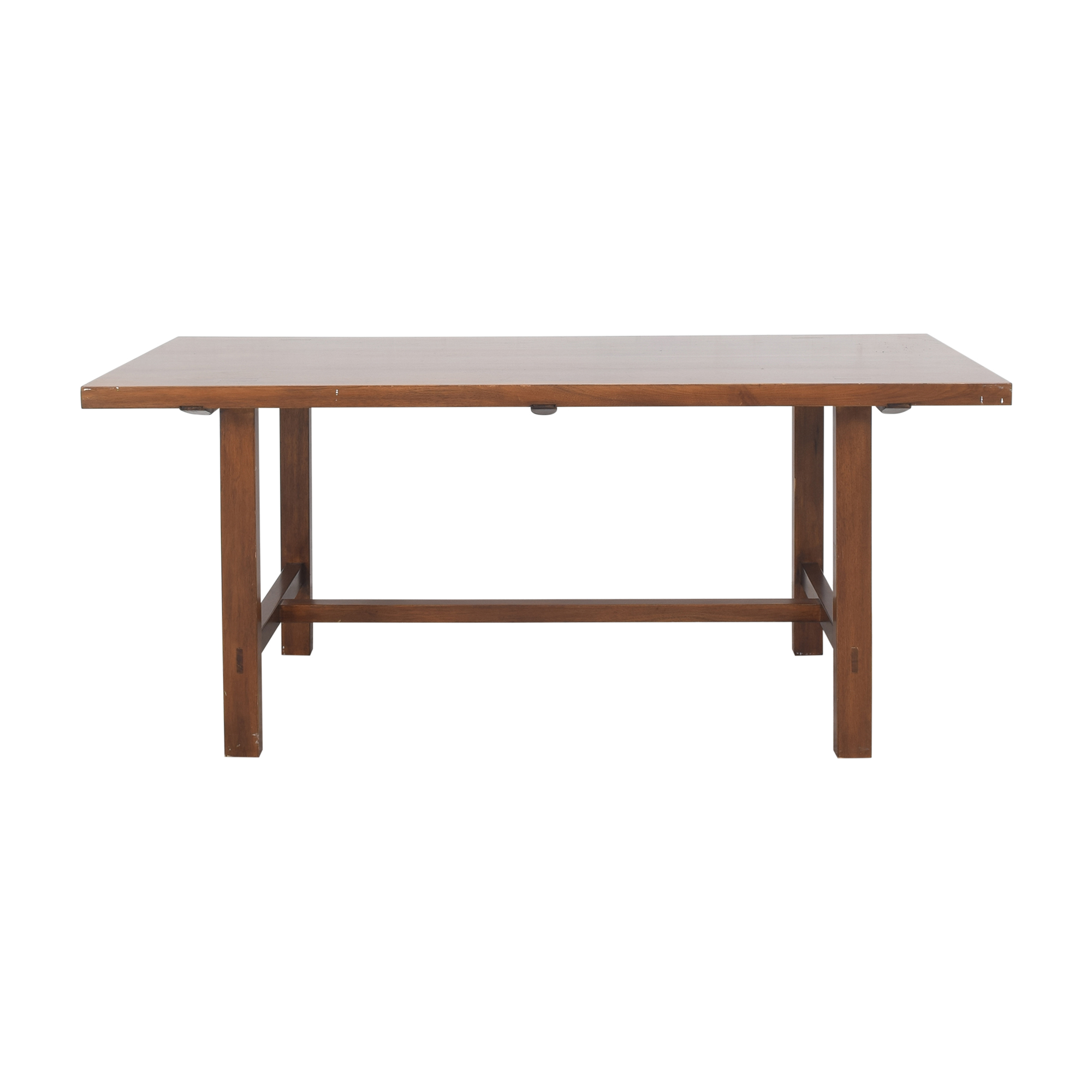 Rectangular Trestle Dining Table discount