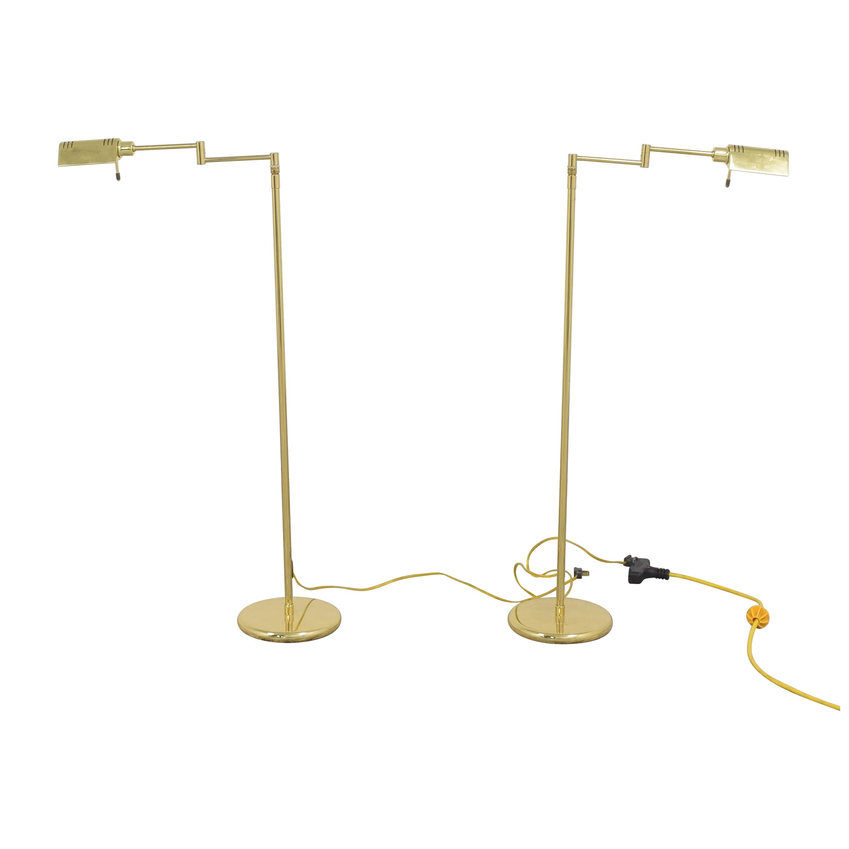 shop Holtkotter Holtkotter Swing Arm Pharmacy Floor Lamps online