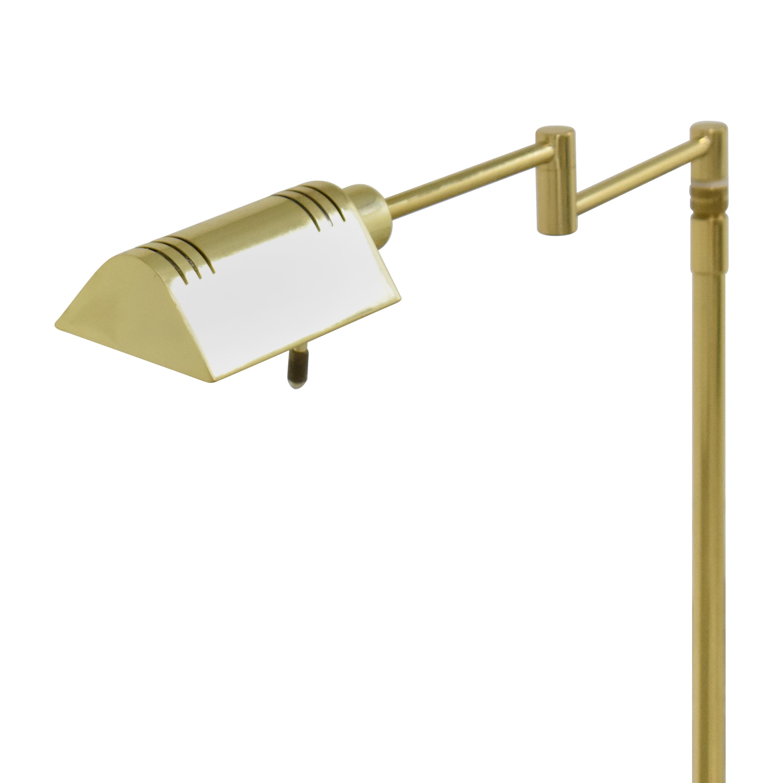 Holtkotter Holtkotter Swing Arm Pharmacy Floor Lamps for sale