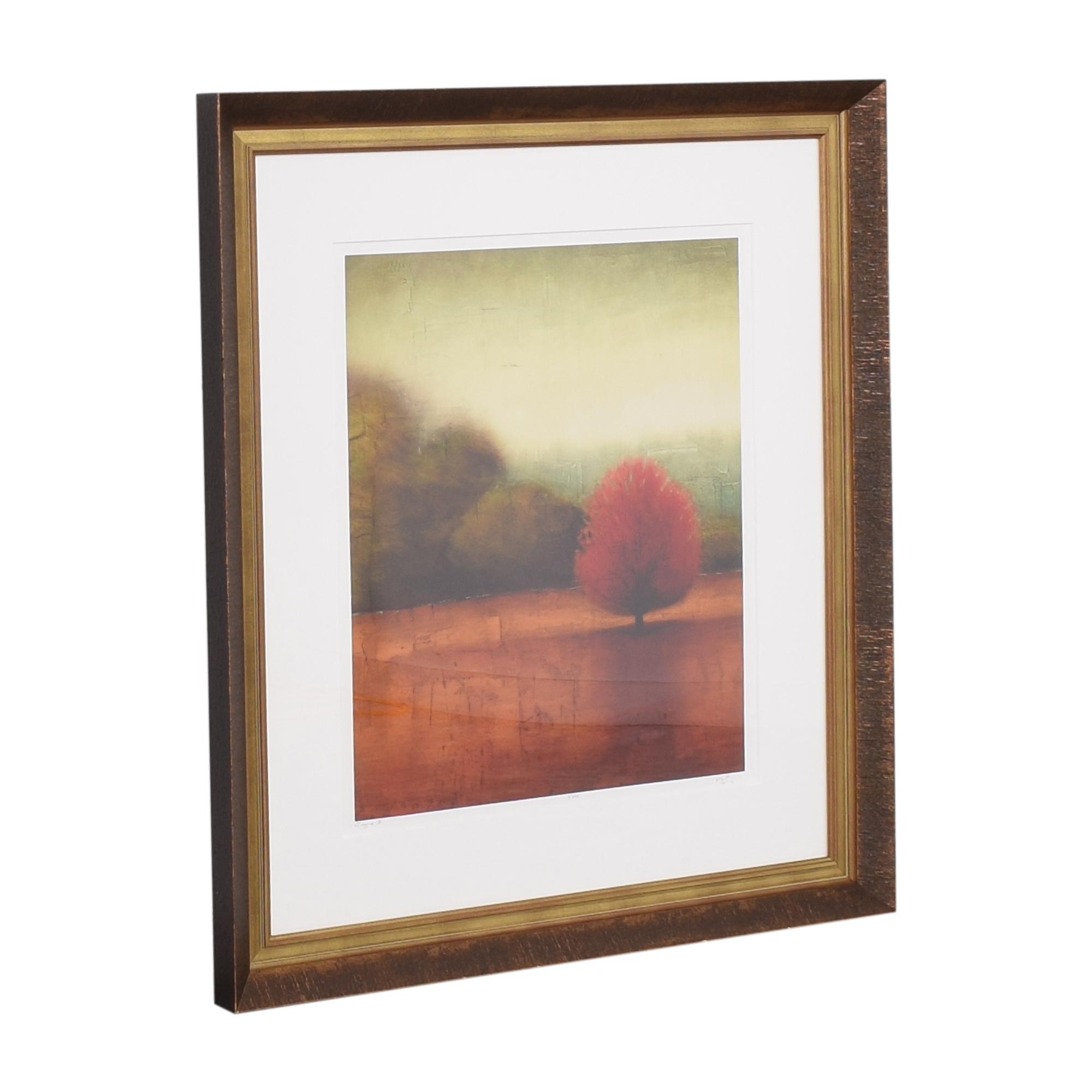 Deljou Art Group Vincent George Equinox VI Framed Wall Art dimensions