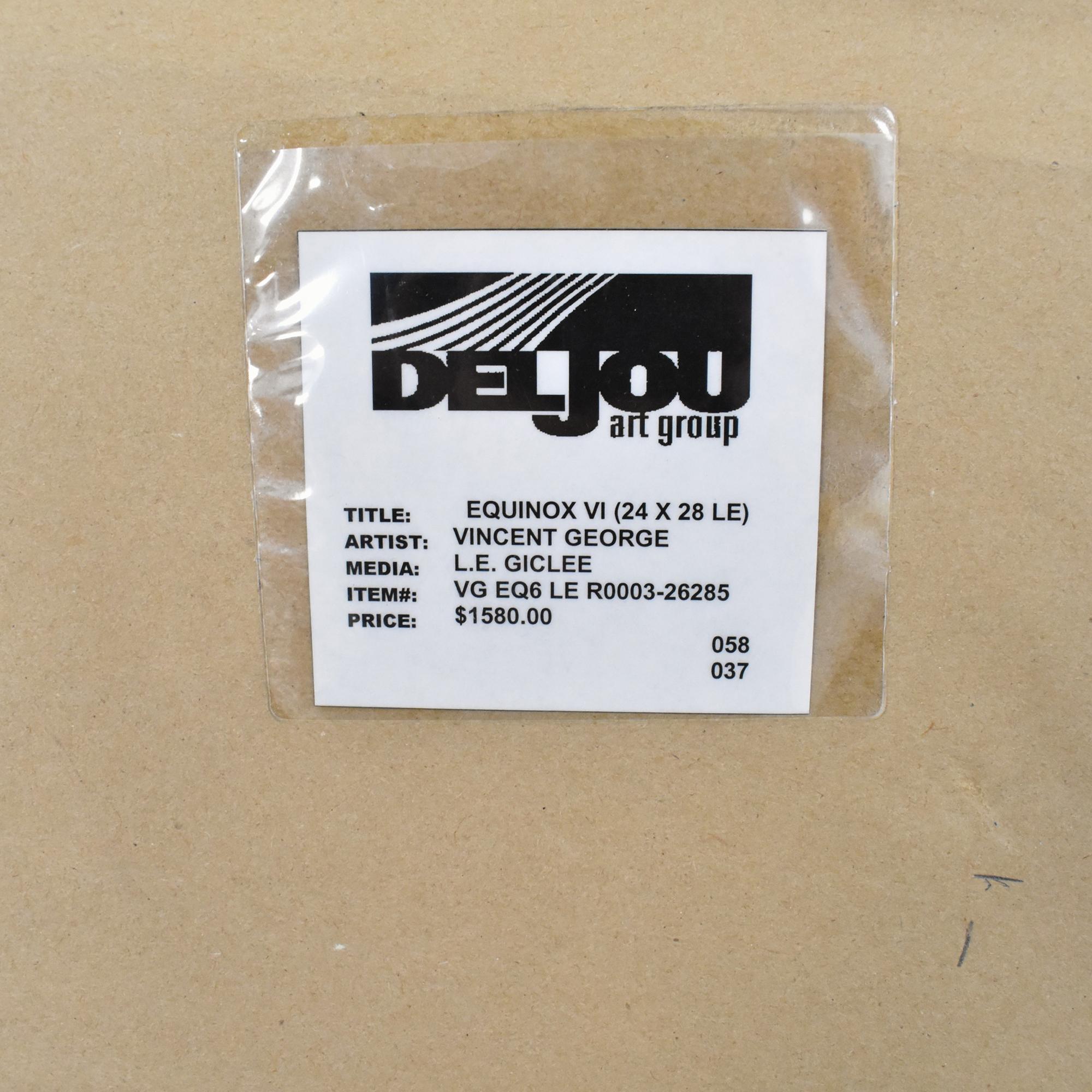 buy  Deljou Art Group Vincent George Equinox VI Framed Wall Art online