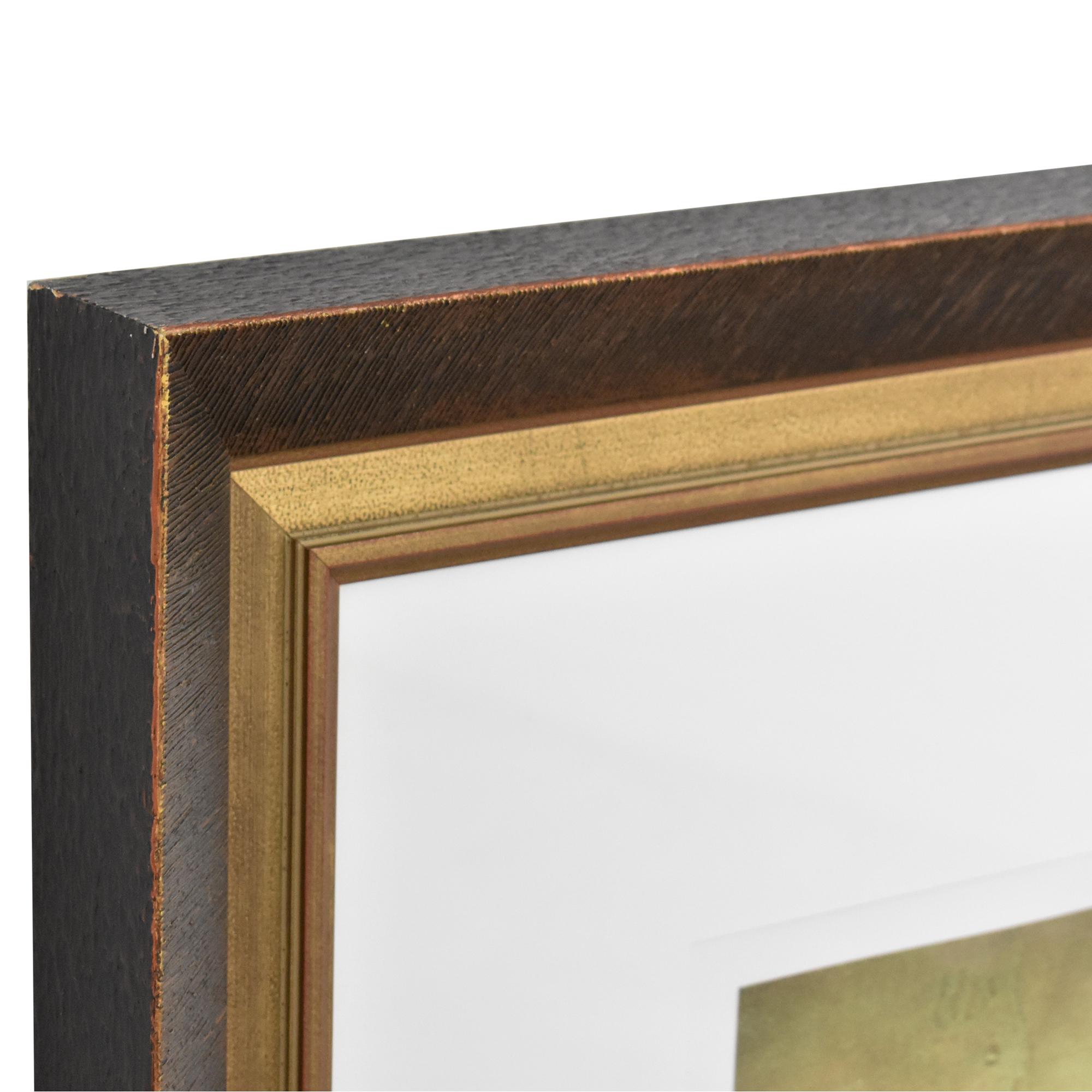 shop Deljou Art Group Vincent George Equinox VI Framed Wall Art