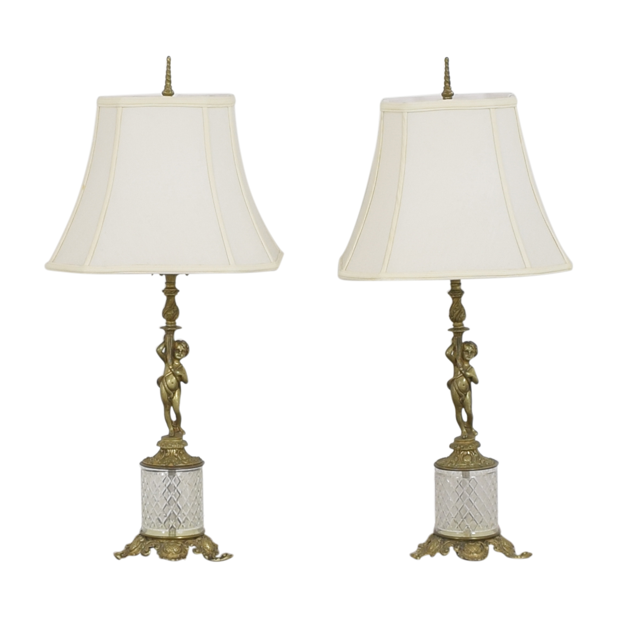 buy Cherub Table Lamps  Decor