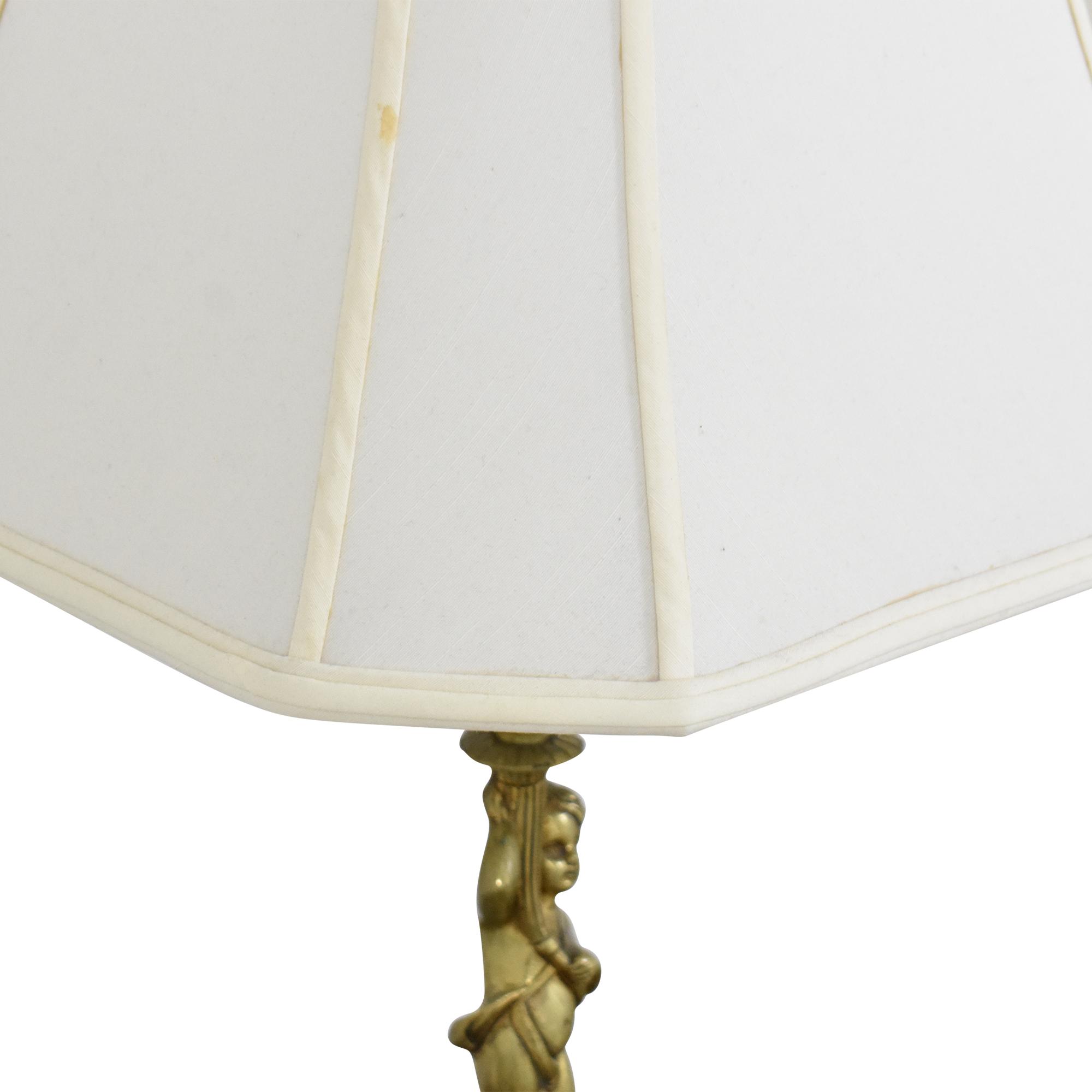Cherub Table Lamps Decor