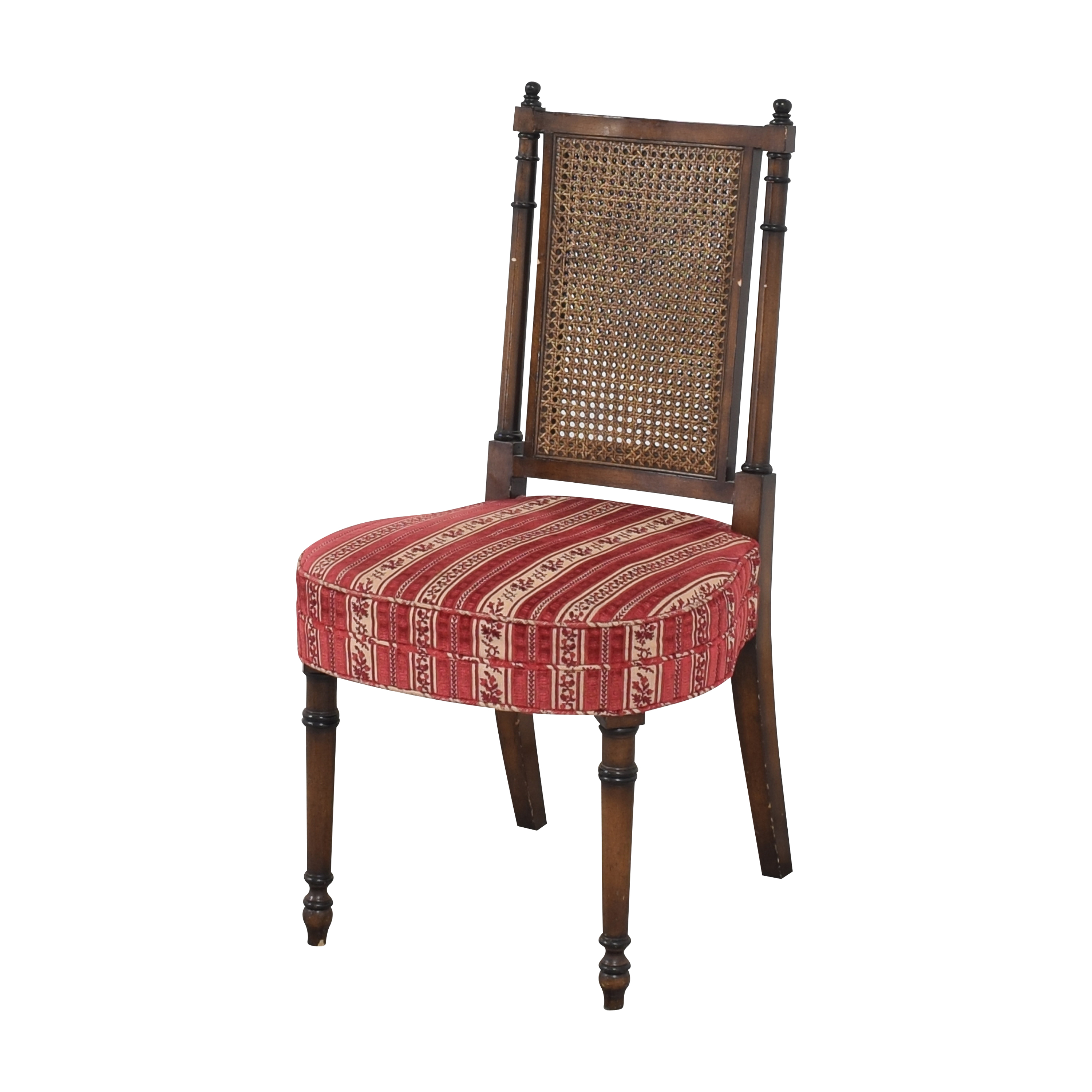 Vintage Upholstered Dining Chairs second hand