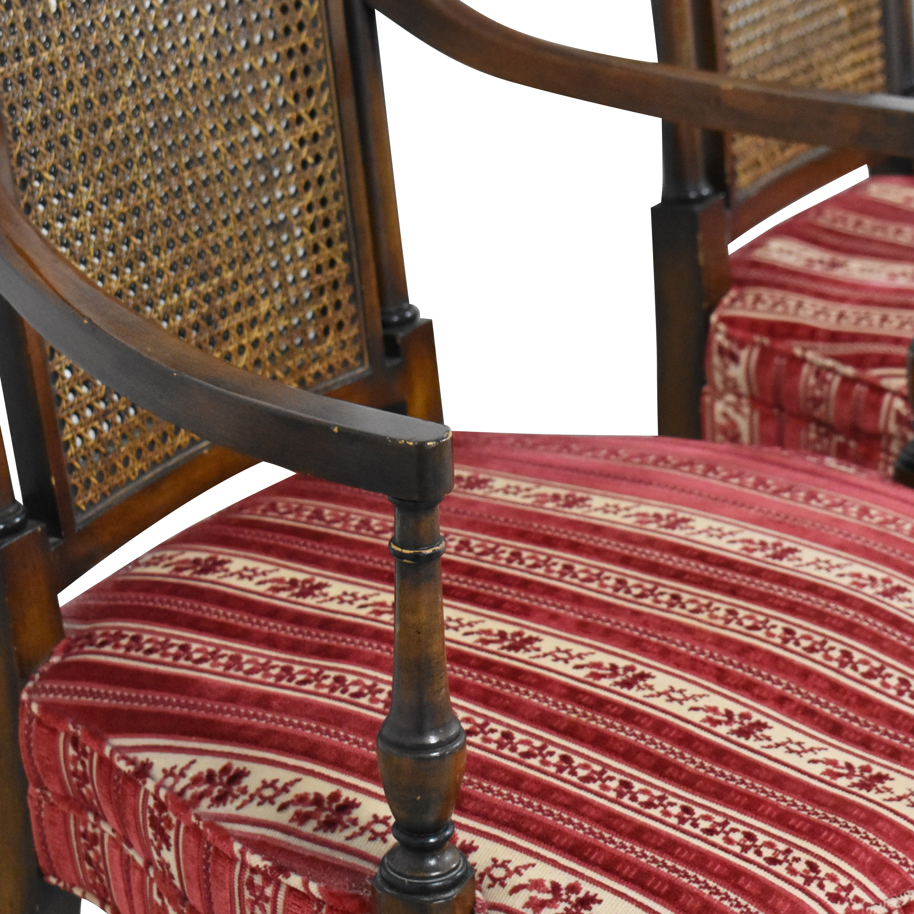 Vintage Upholstered Dining Chairs for sale