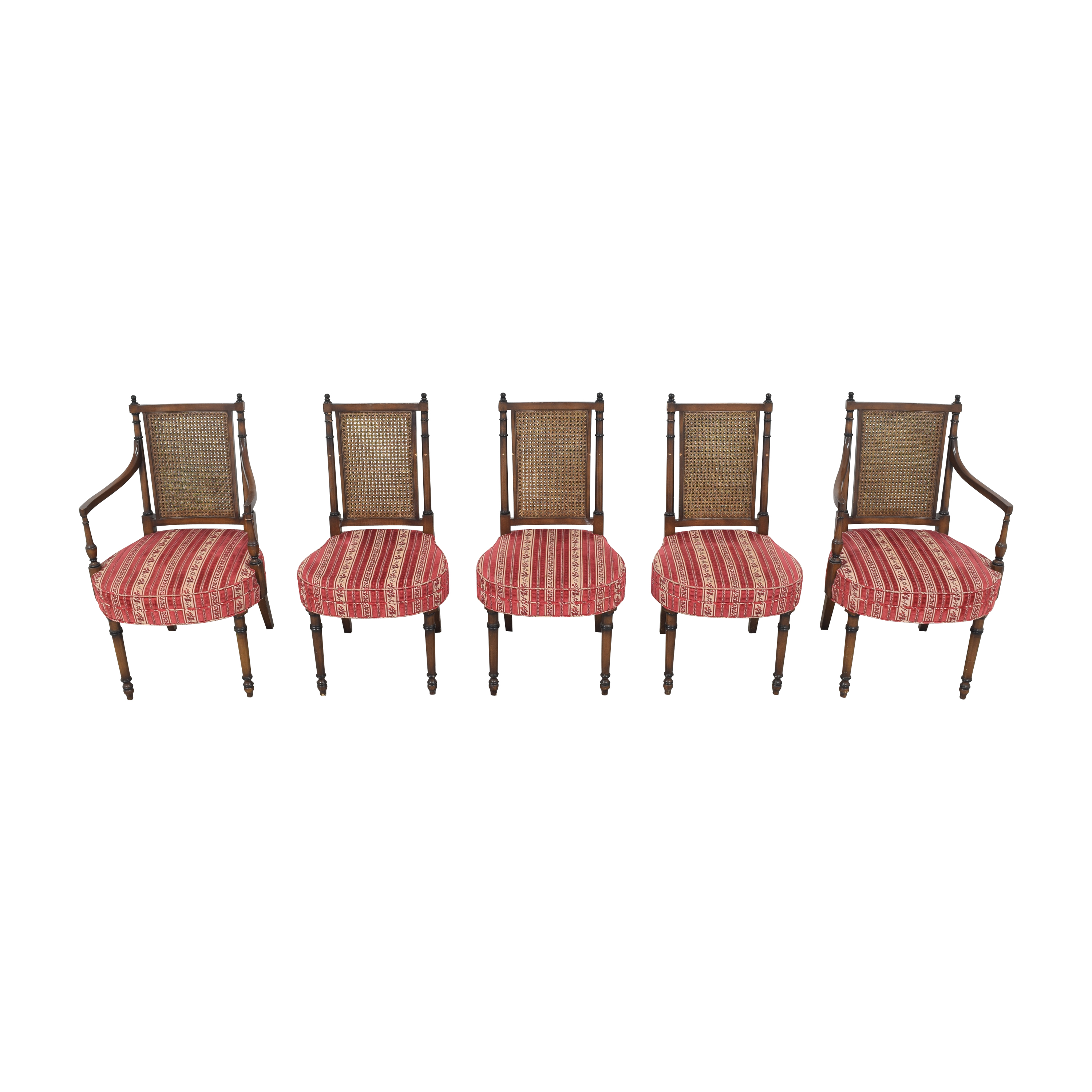 Vintage Upholstered Dining Chairs discount
