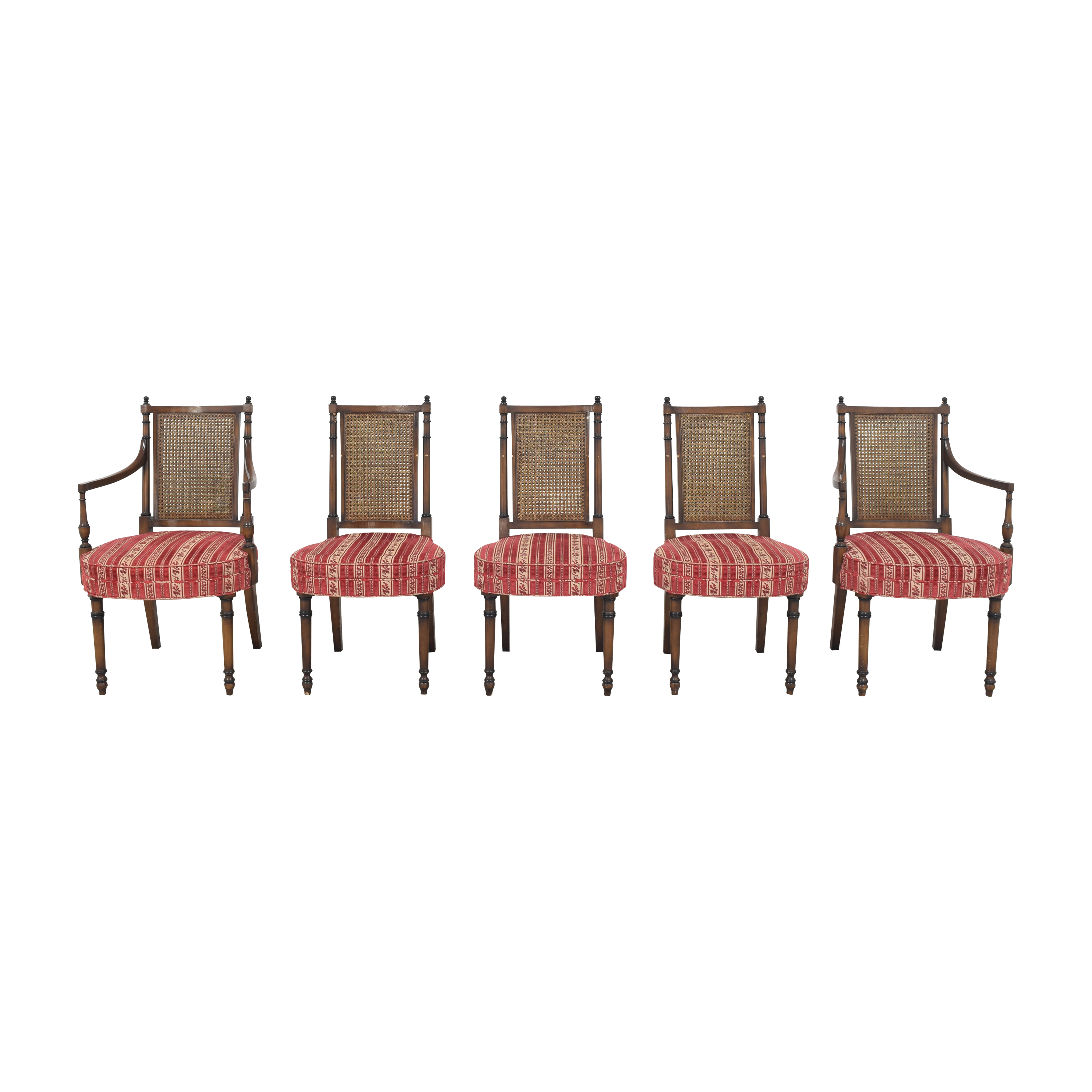 Vintage Upholstered Dining Chairs on sale
