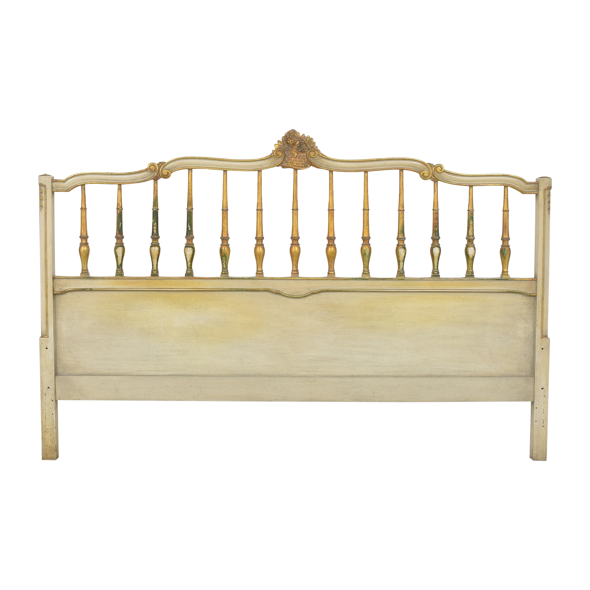 Vintage French-Style King Headboard Headboards