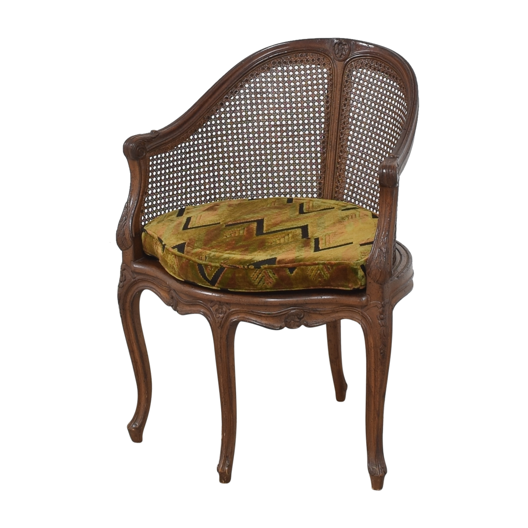 shop Vintage French-Style Corner Chair  Chairs