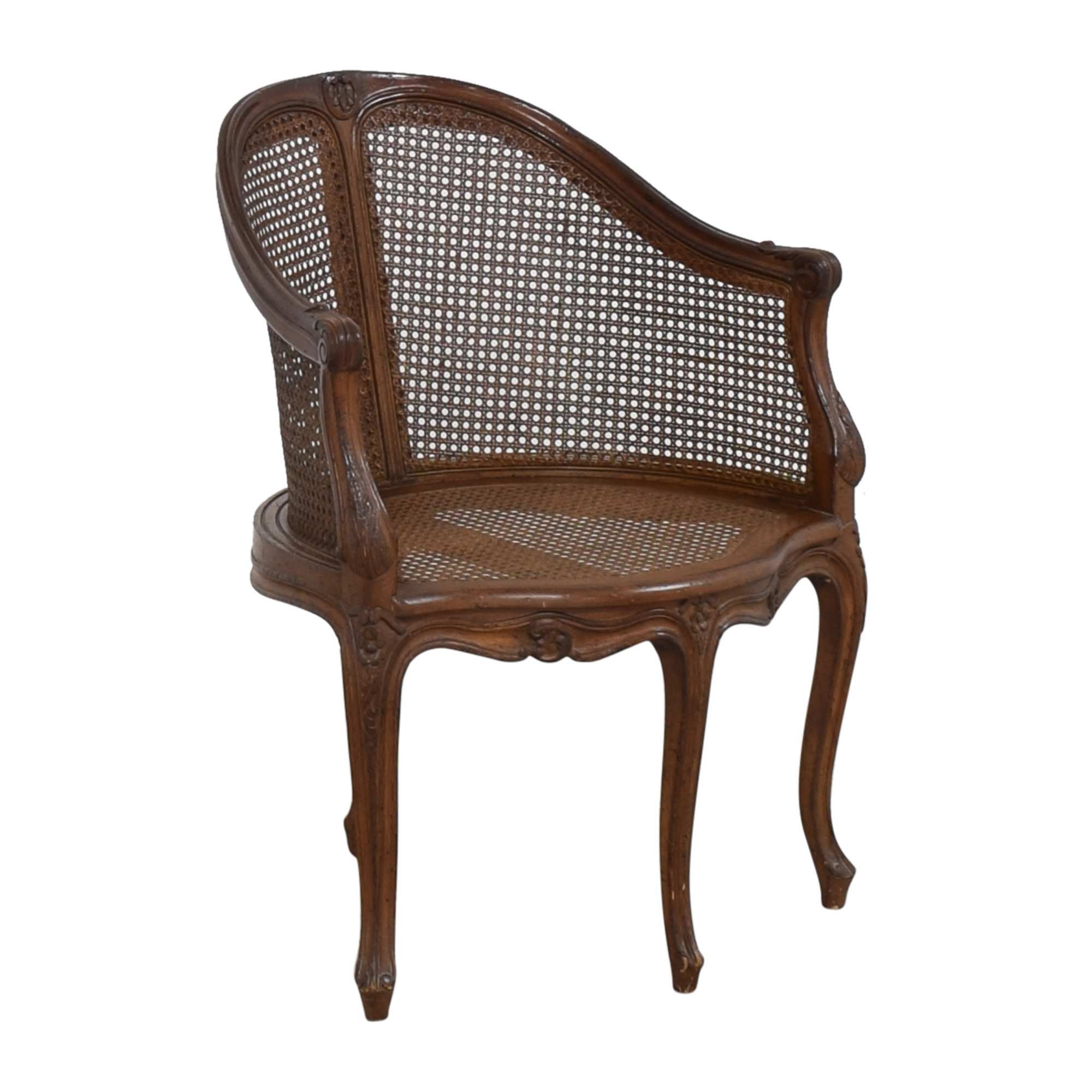 Vintage French-Style Corner Chair pa