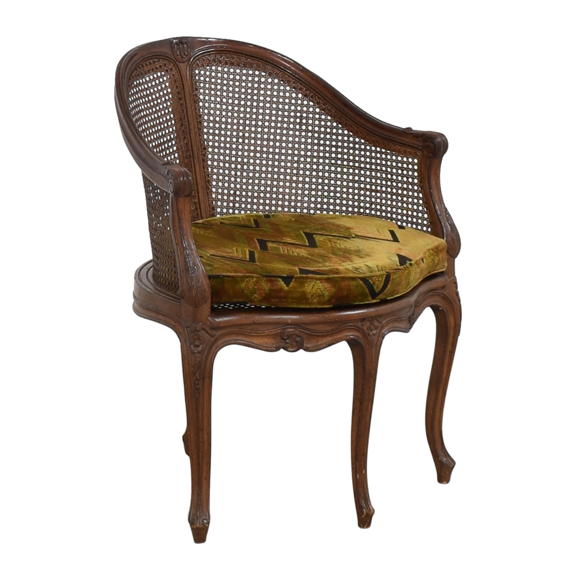 Vintage French-Style Corner Chair