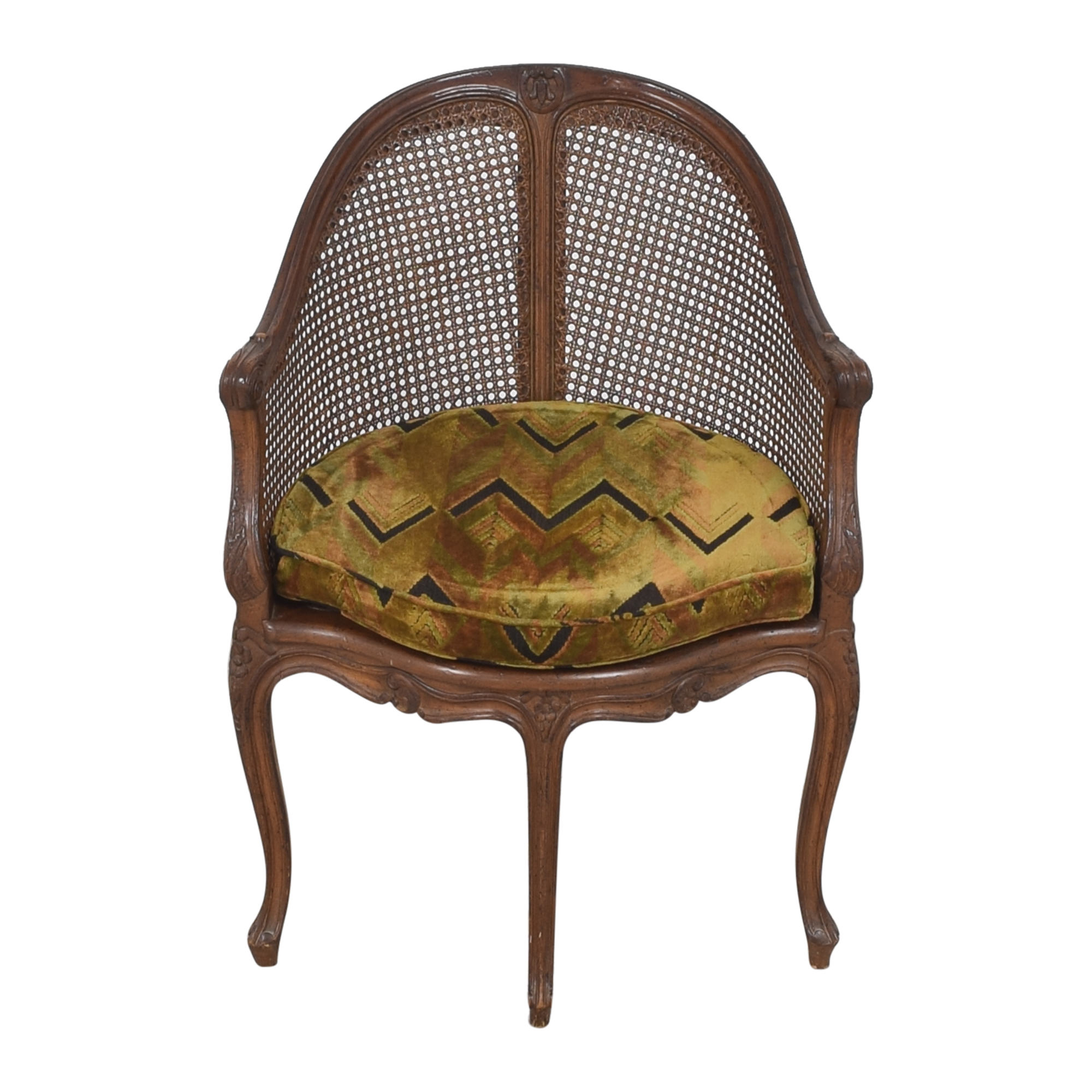 shop Vintage French-Style Corner Chair
