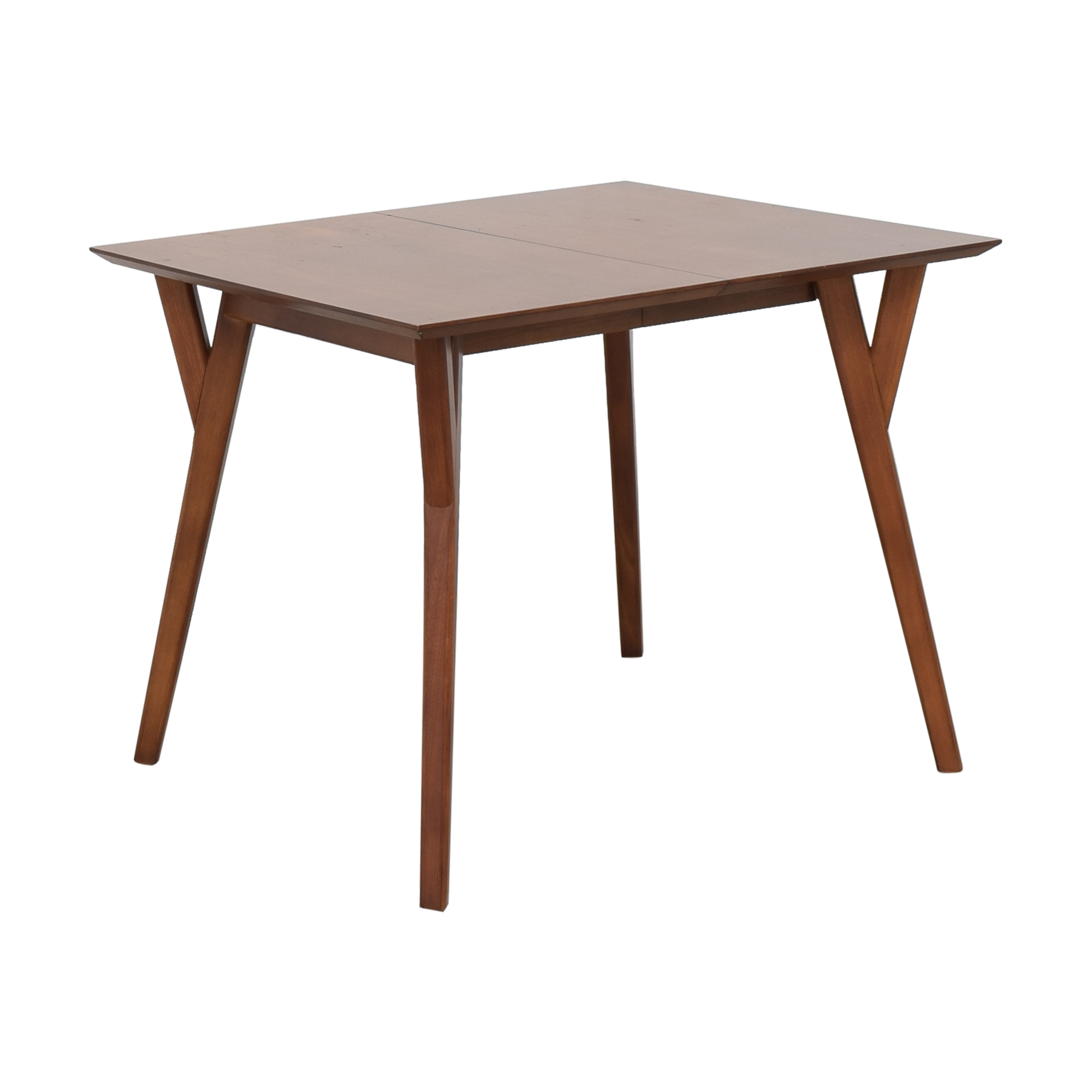 West Elm West Elm Mid Century Expandable Dining Table pa