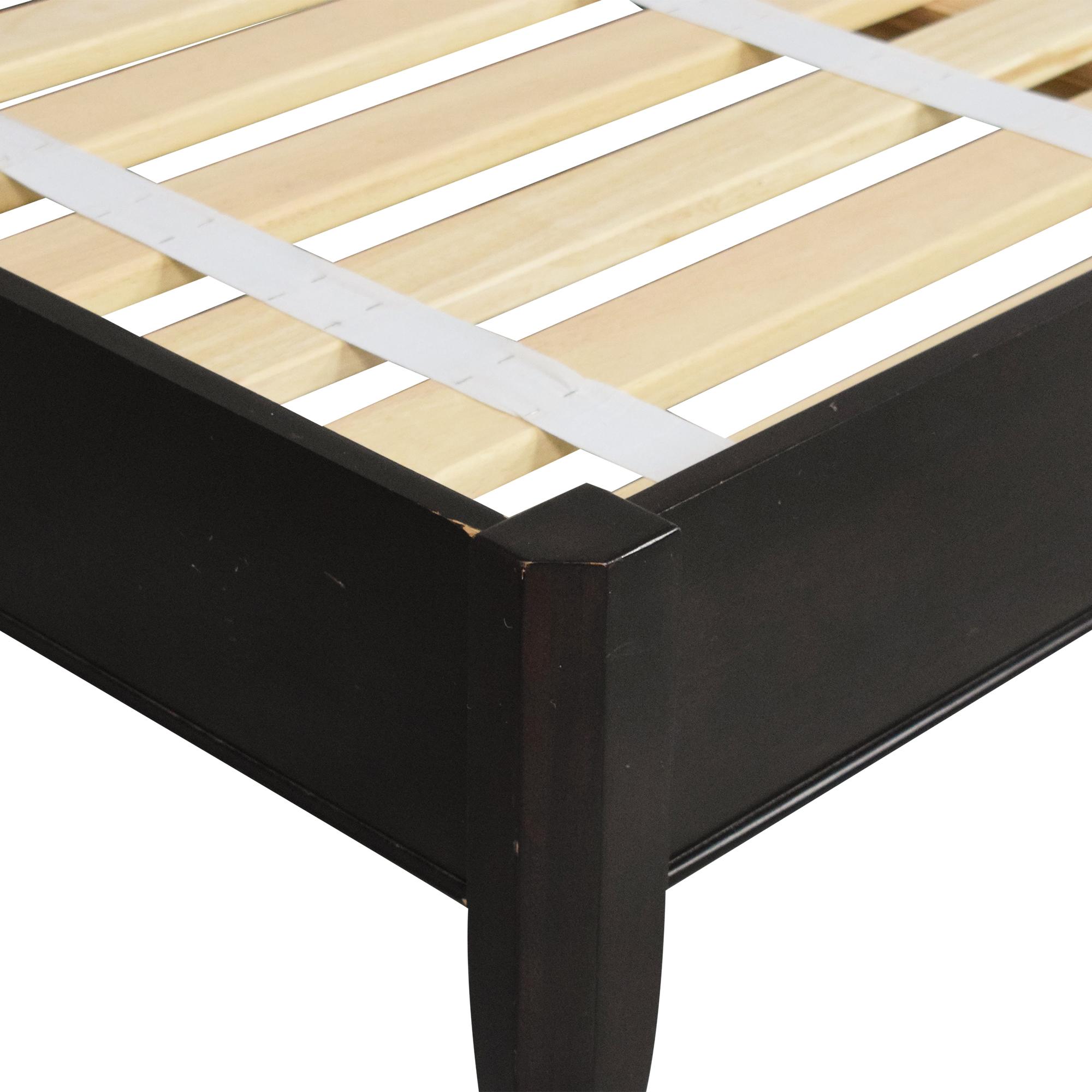 Crate & Barrel Crate & Barrel Queen Platform Bed dimensions