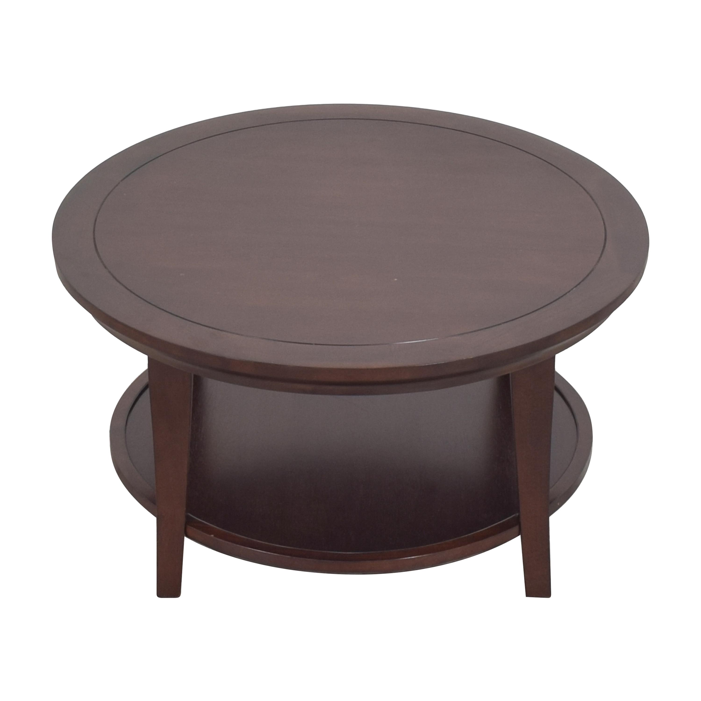 shop Pottery Barn Pottery Barn Metropolitan Round Coffee Table online