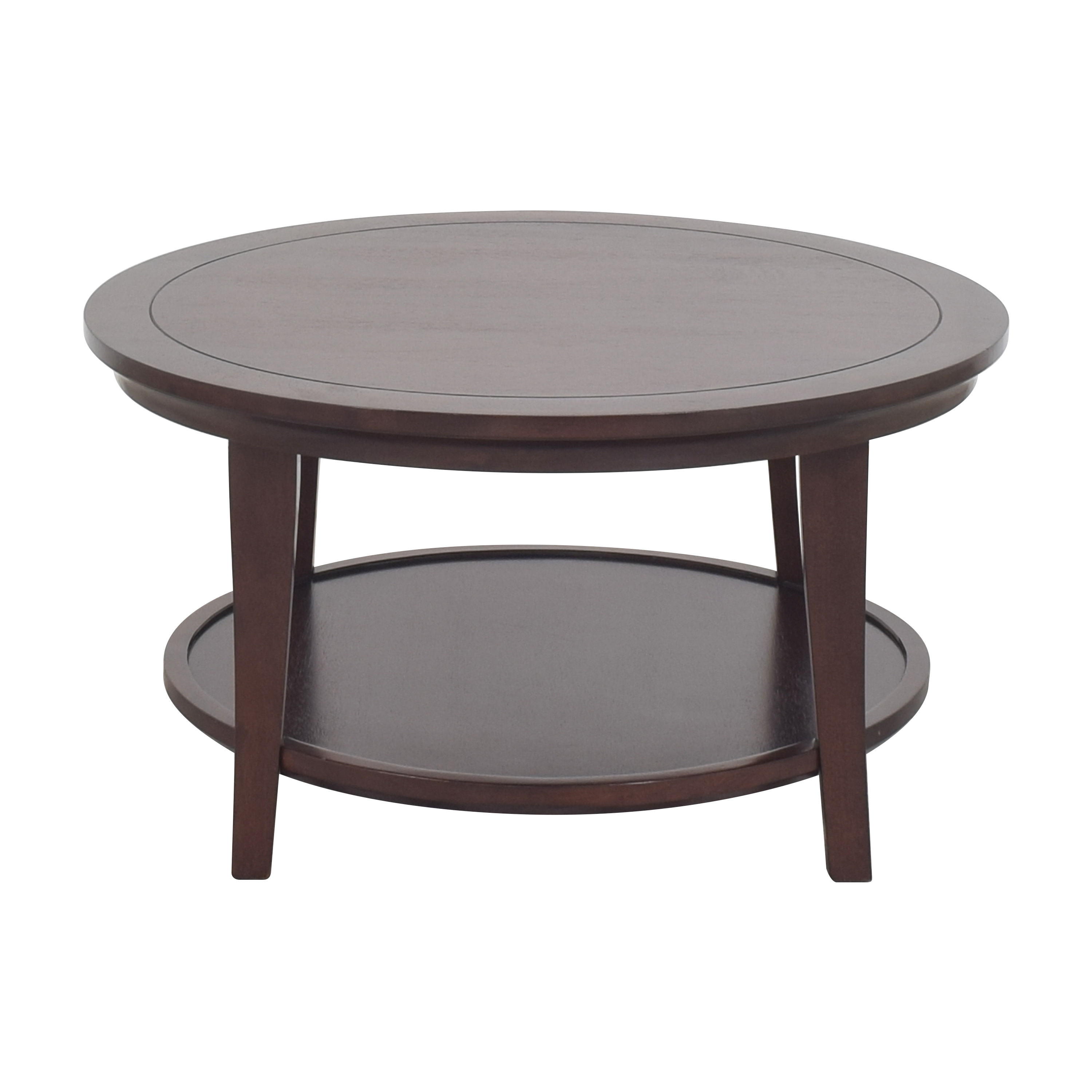 Pottery Barn Pottery Barn Metropolitan Round Coffee Table price