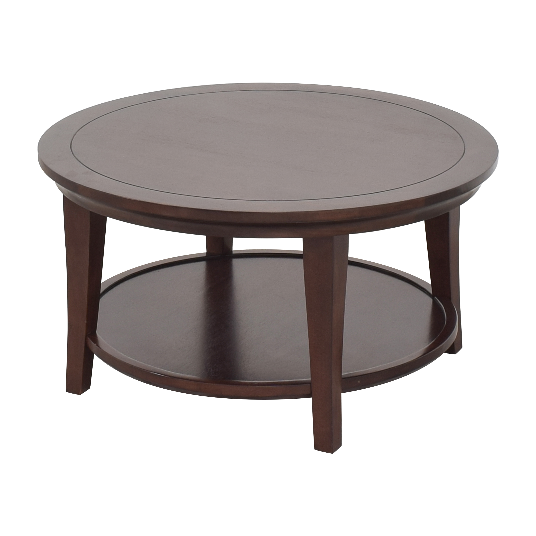 Pottery Barn Pottery Barn Metropolitan Round Coffee Table ma