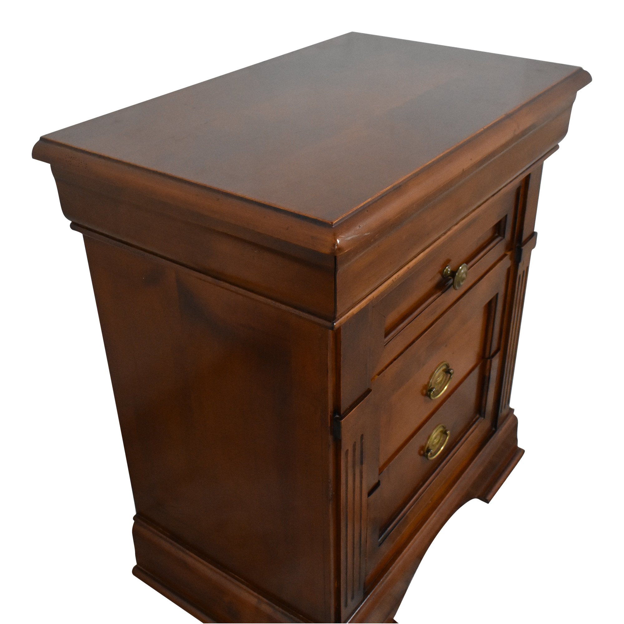 Vintage Four Drawer Nightstand ma