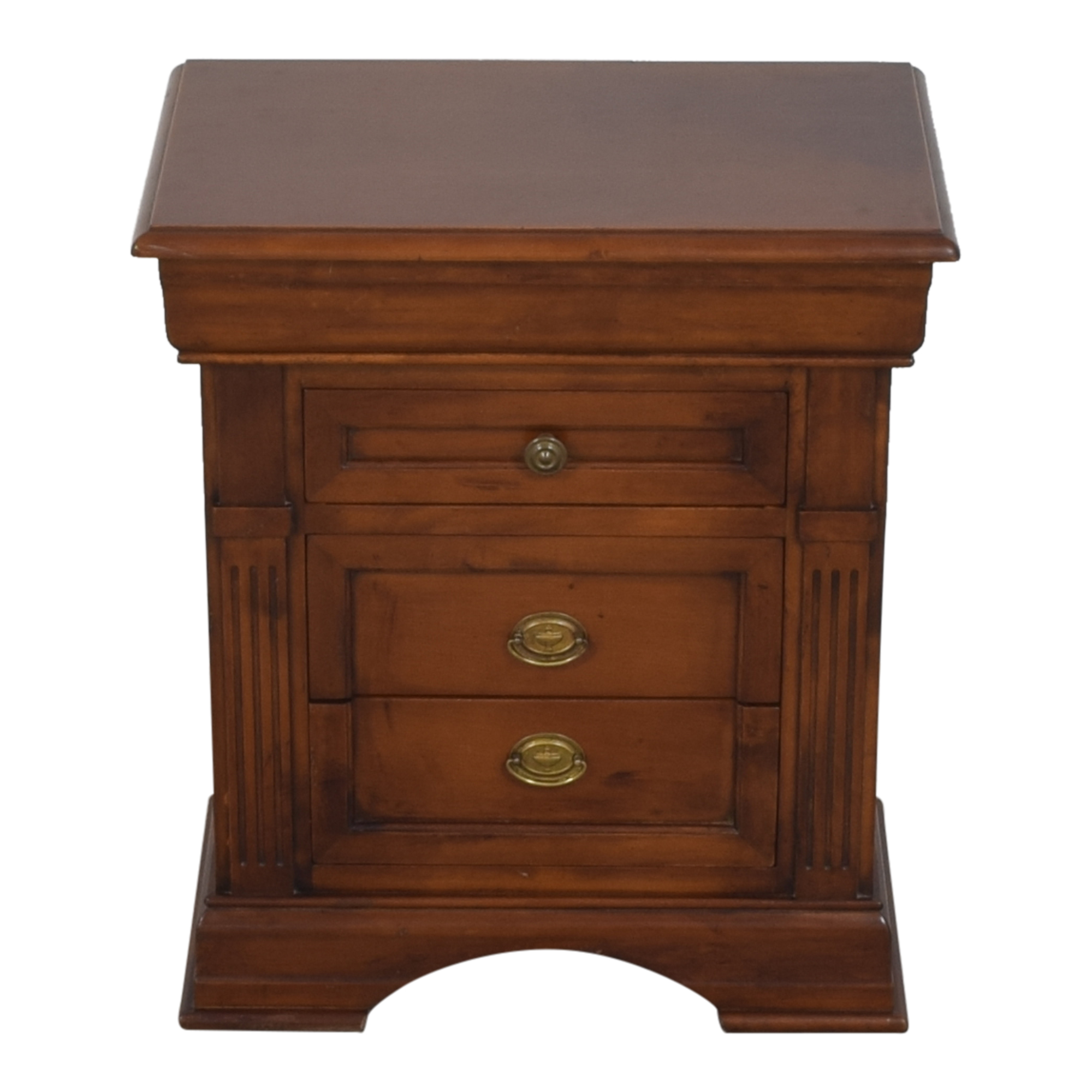 Vintage Four Drawer Nightstand discount