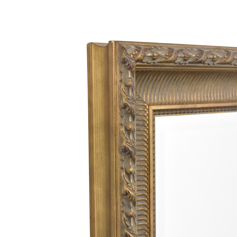 Vintage Framed Mirror pa