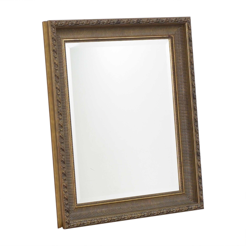 Vintage Framed Mirror Mirrors
