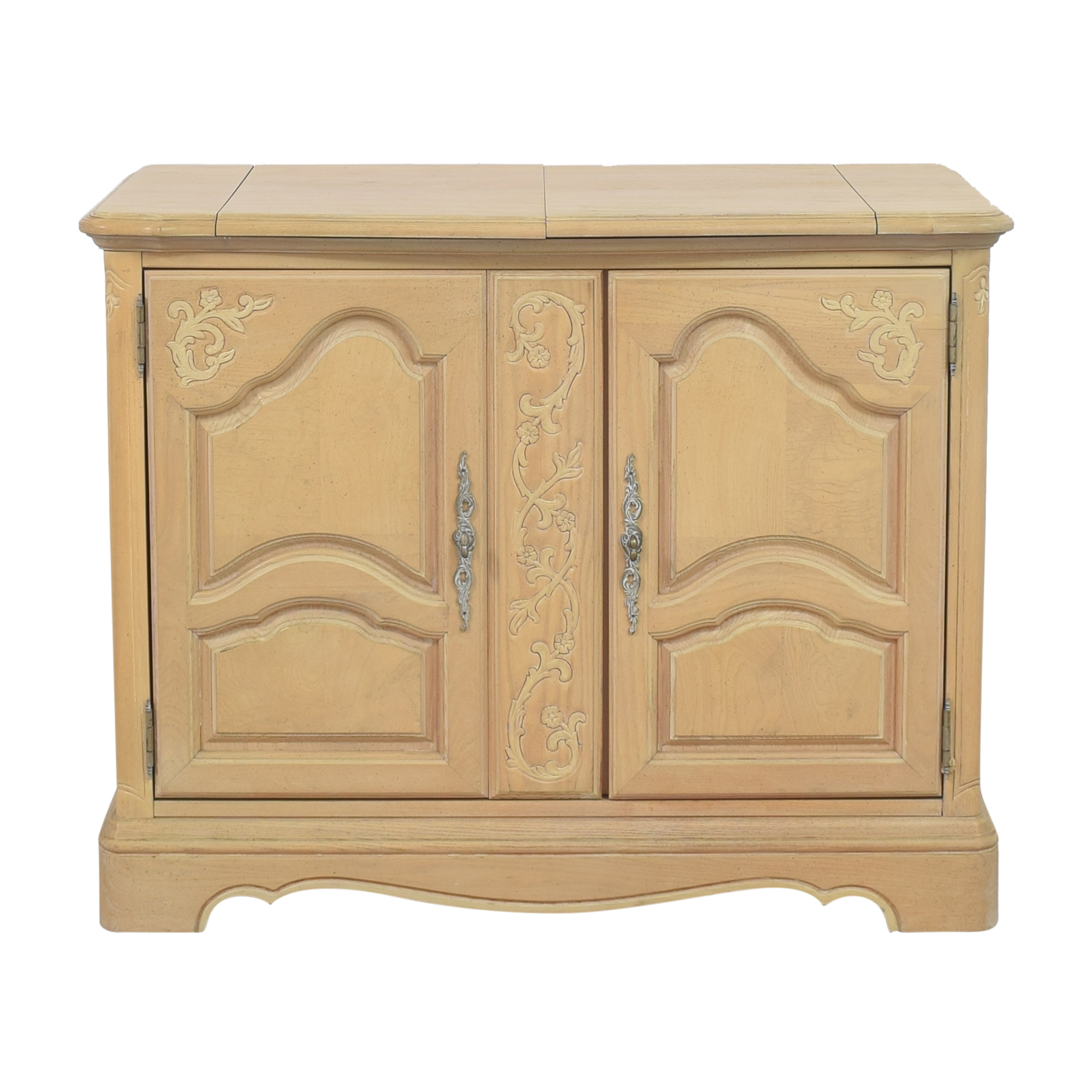 shop Stanley Furniture Country French Flip-Top Server Buffet Stanley Furniture Cabinets & Sideboards